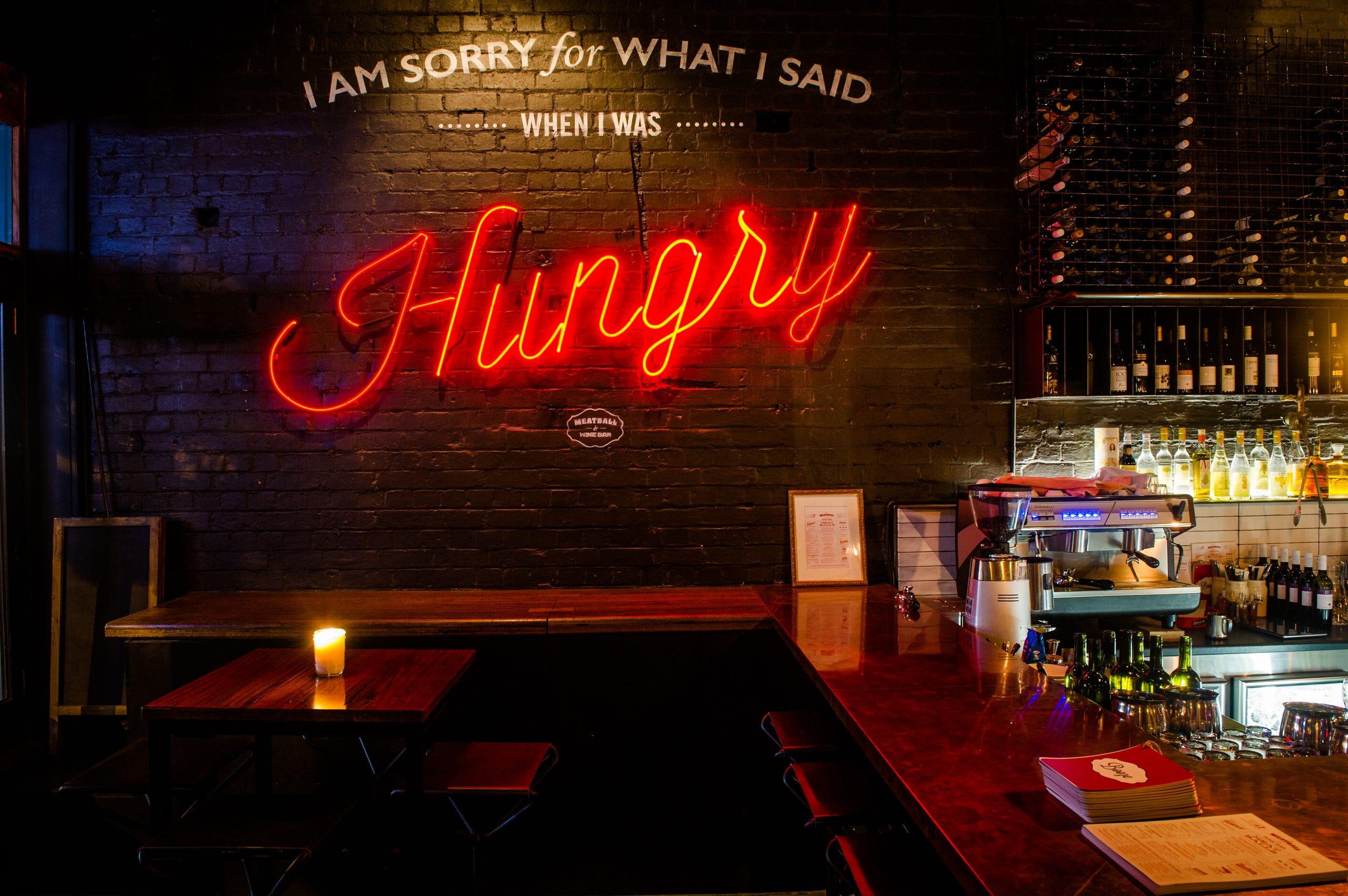 Restaurants and bars' best neon lights