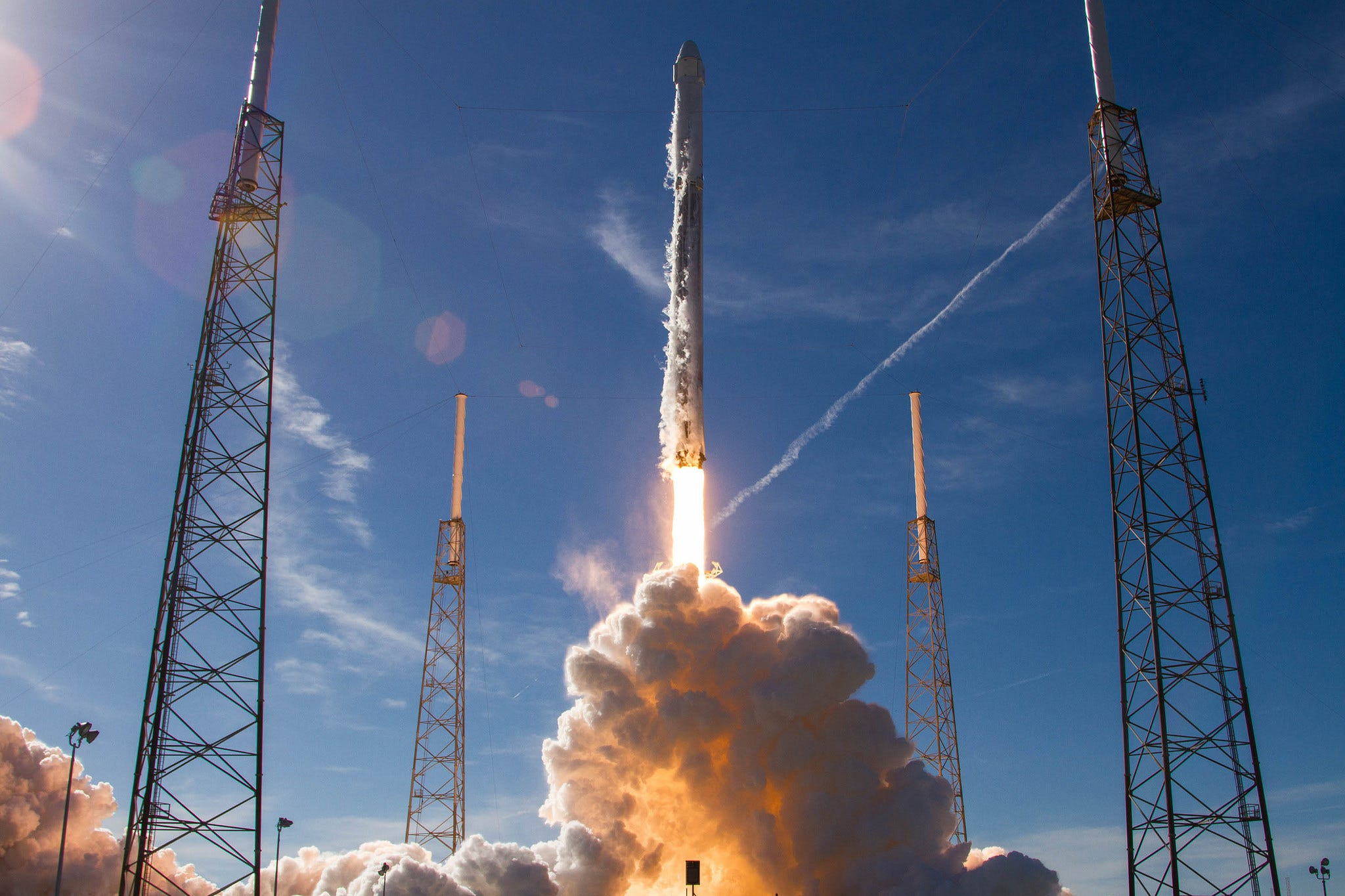 636513668107343503-spx-crs13-launch After 2016 launch pad explosion, SpaceX updating Falcon 9 for astronauts
