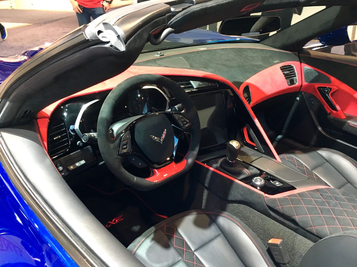This $750K converted all-electric Corvette could hit 220 m p h