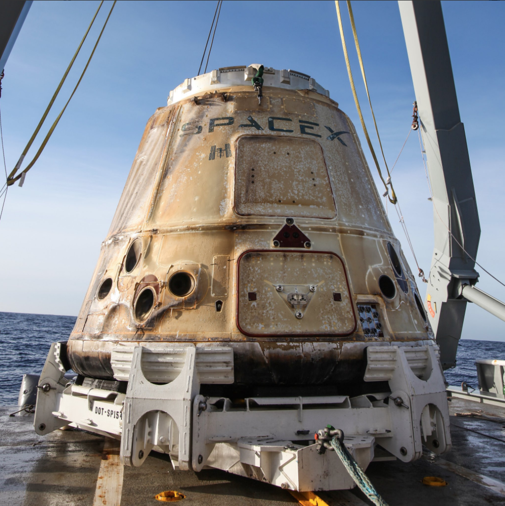 636514591270056031-Screen-Shot-2018-01-13-at-4.51.41-PM After month-long stay at ISS, SpaceX Dragon splashes down in Pacific
