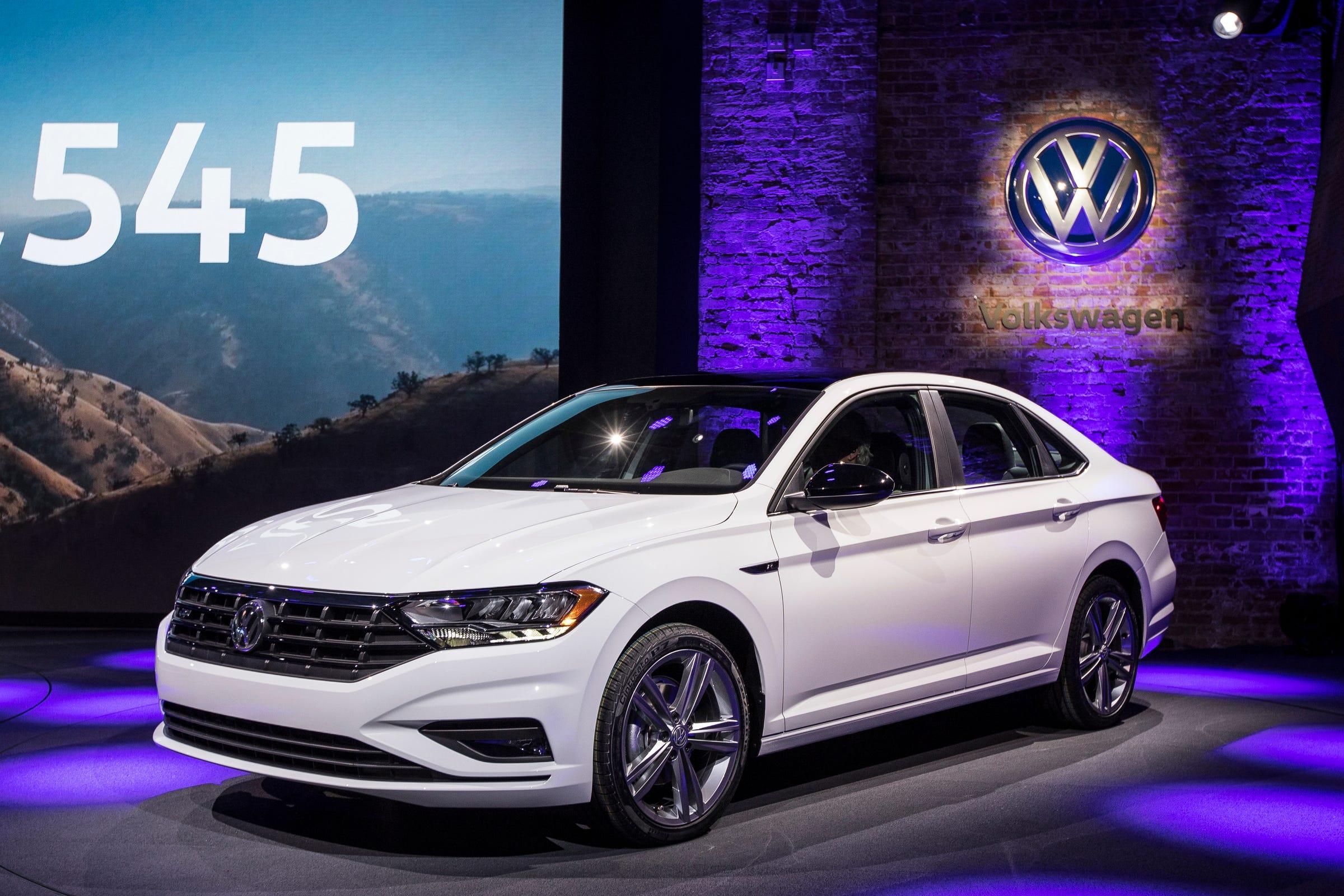 king5.com | Detroit auto show photos: 2019 Volkswagen Jetta