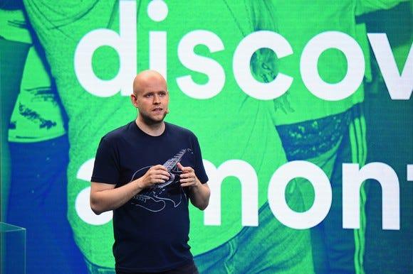 Music streamer Spotify files to go public