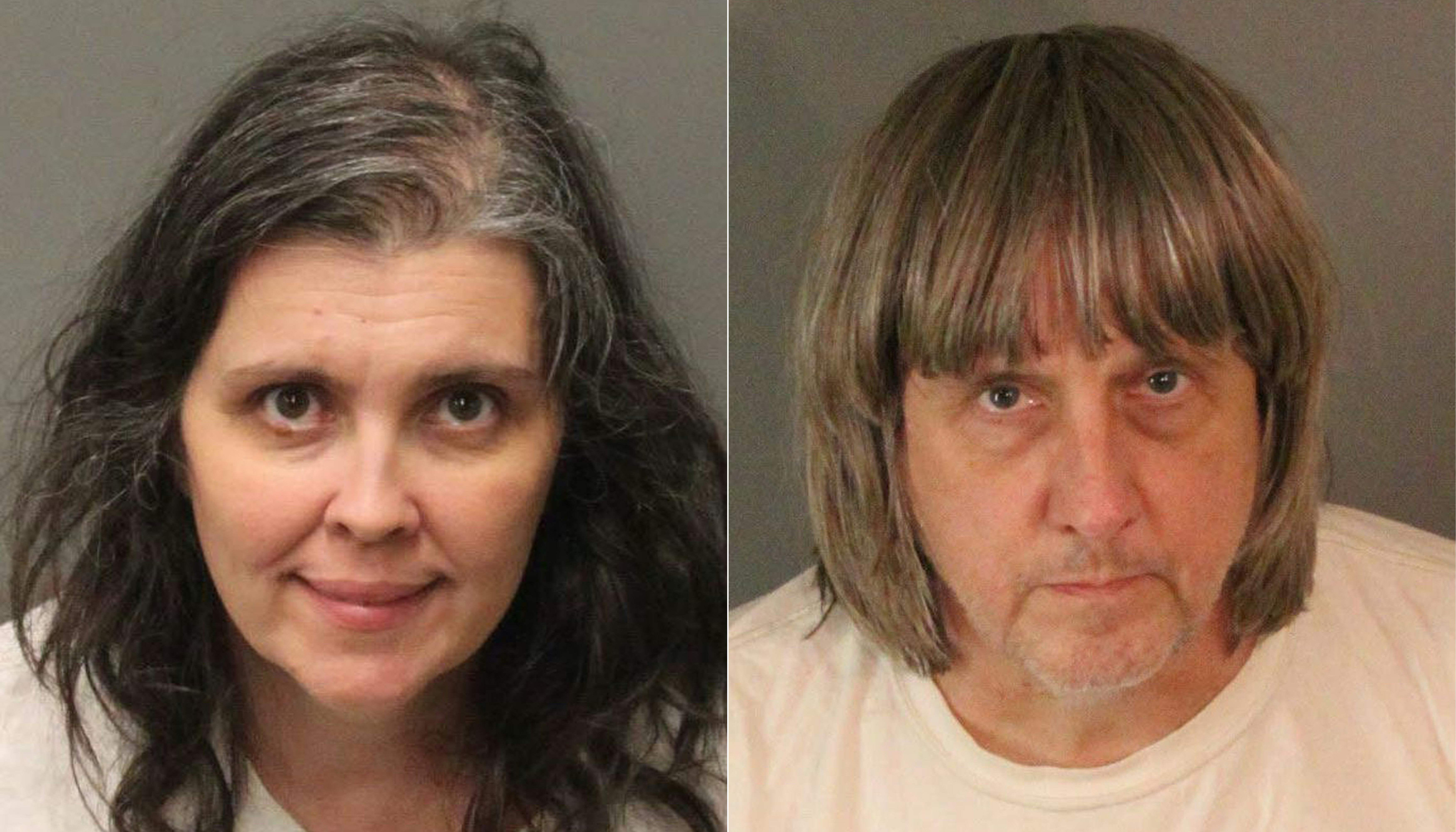 Parents chained 13 malnourished kids to furniture, taunted them with food
