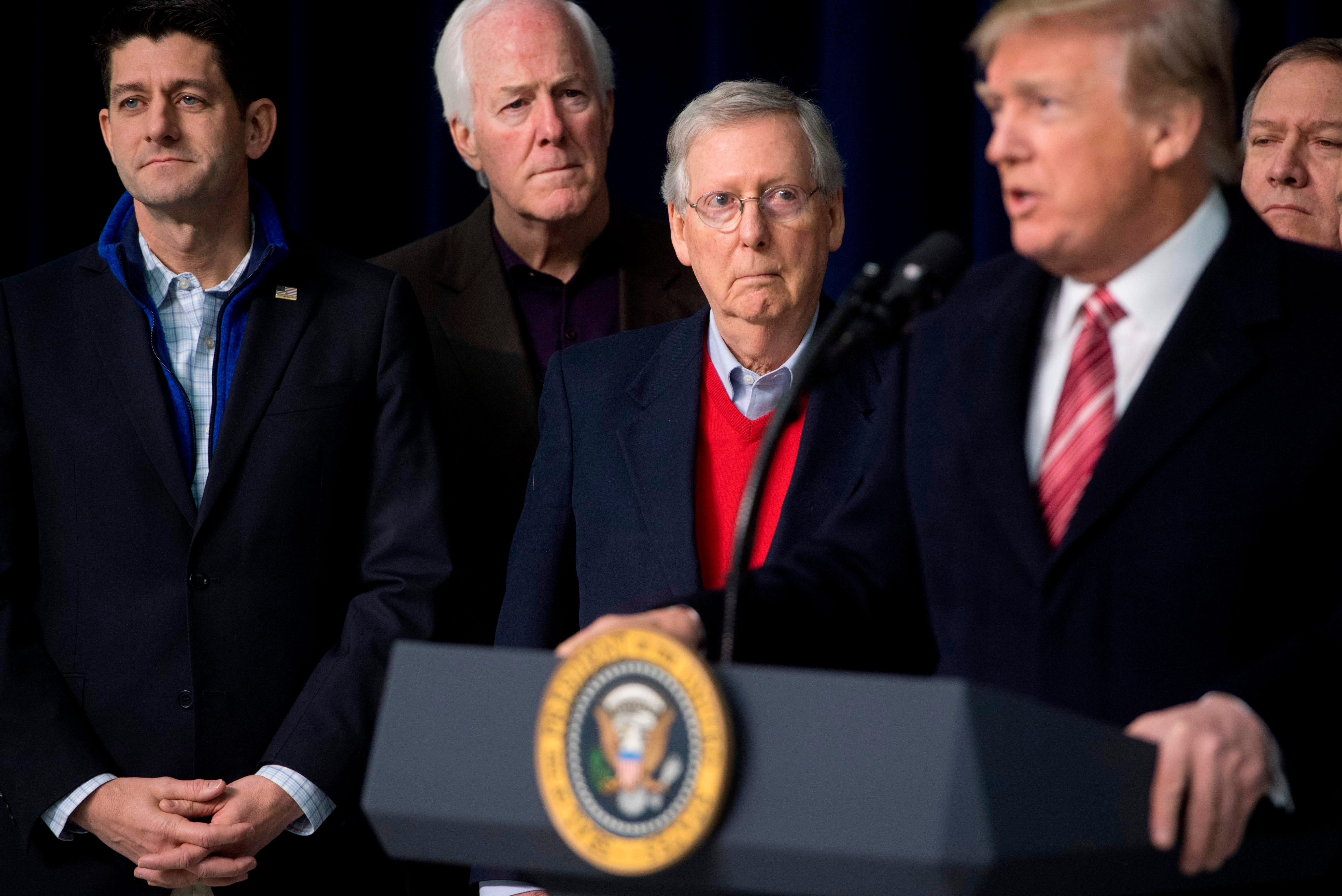 House Republicans plan vote to avert shutdown but Trump may have made it harder