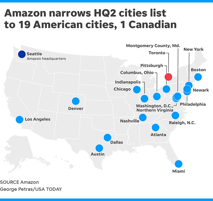 Why does Amazon have two new headquarters? What you need to know