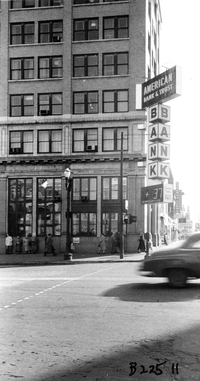 From The Archives Old Lansing Banks