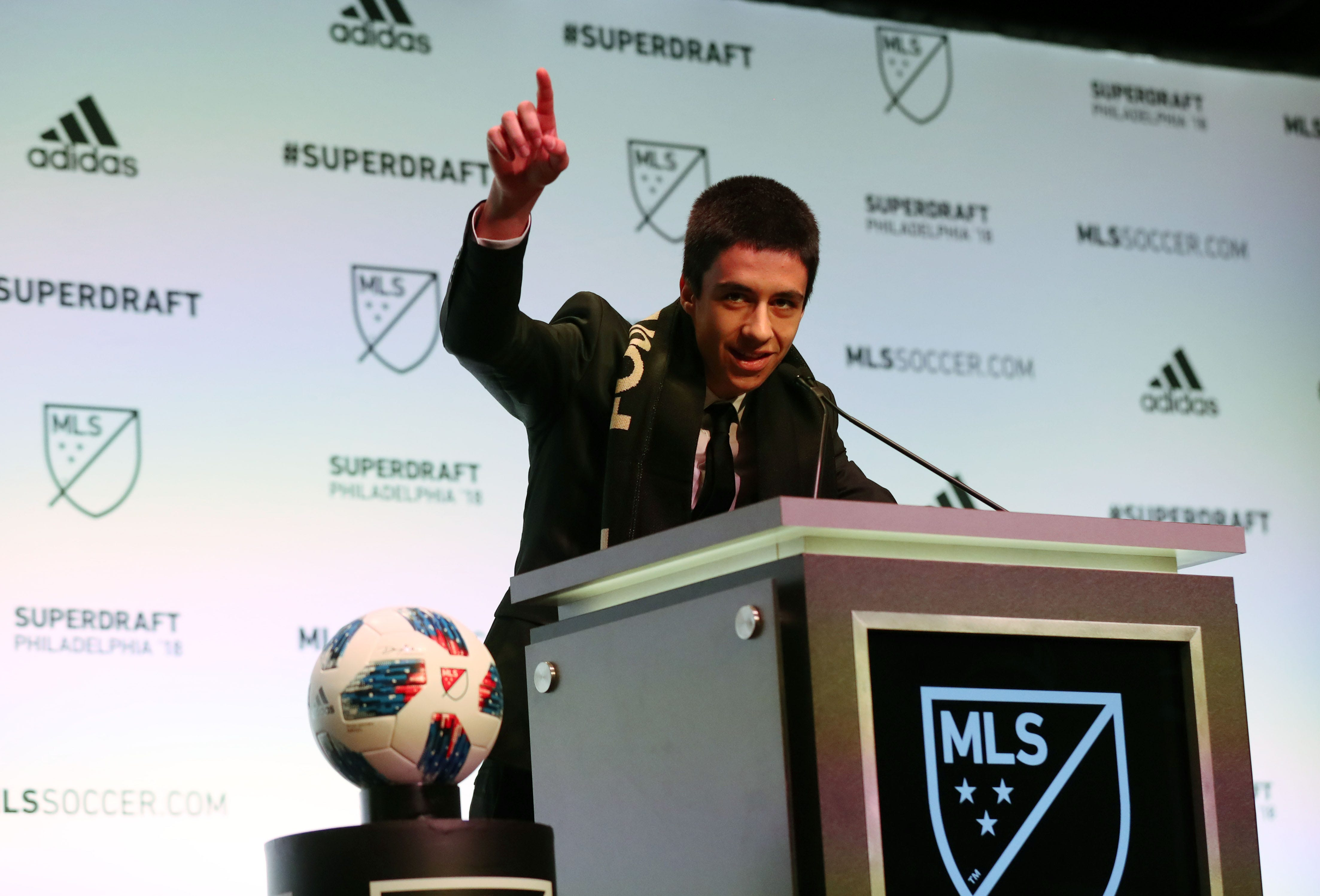MLS' Los Angeles FC drafts Akron's Joao Moutinho No. 1 overall