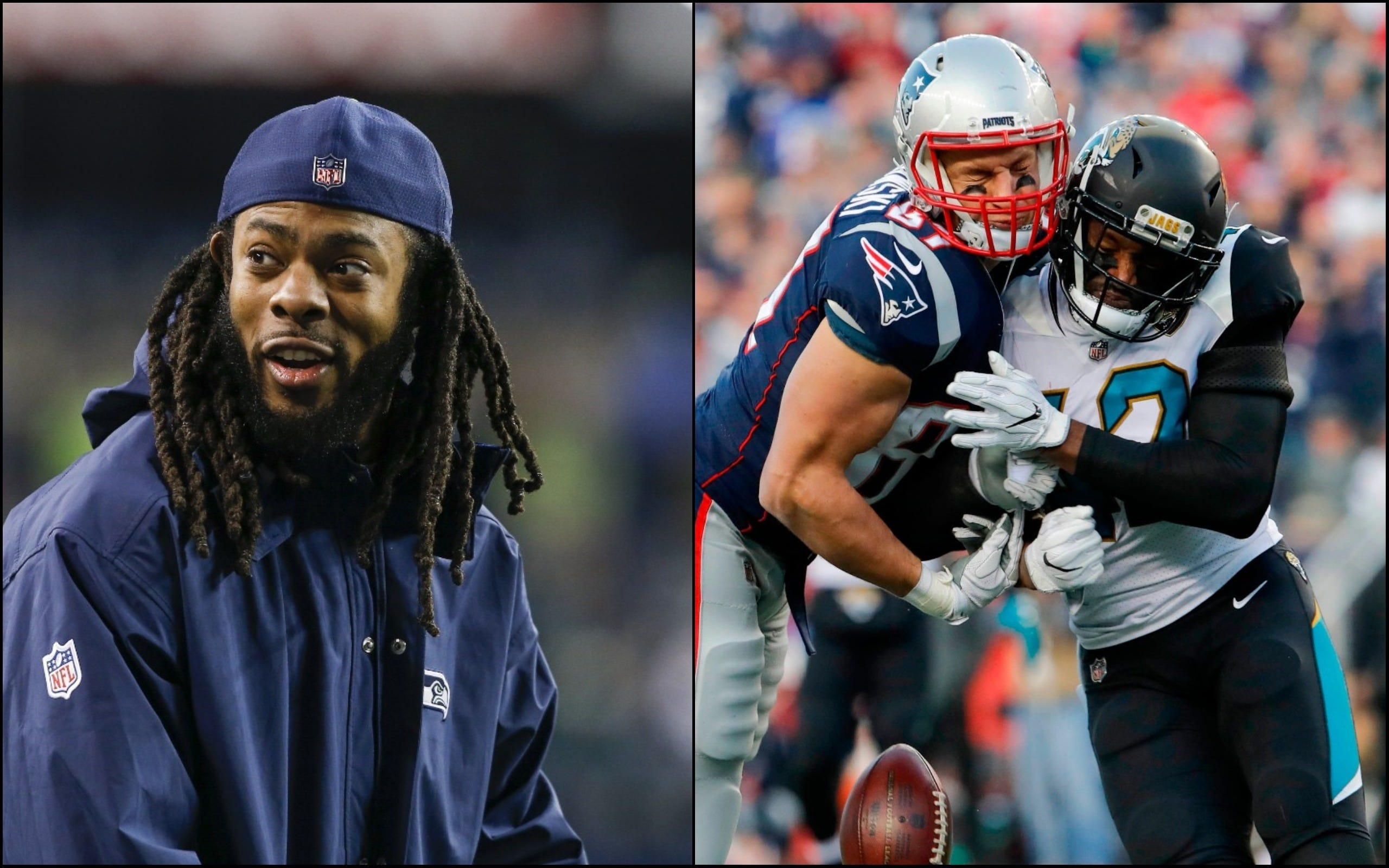 Richard Sherman defends the hit on Gronkowski