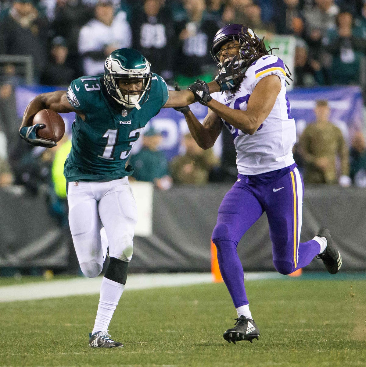 0311cf54 How Eagles' Nelson Agholor saved his career as a slot receiver
