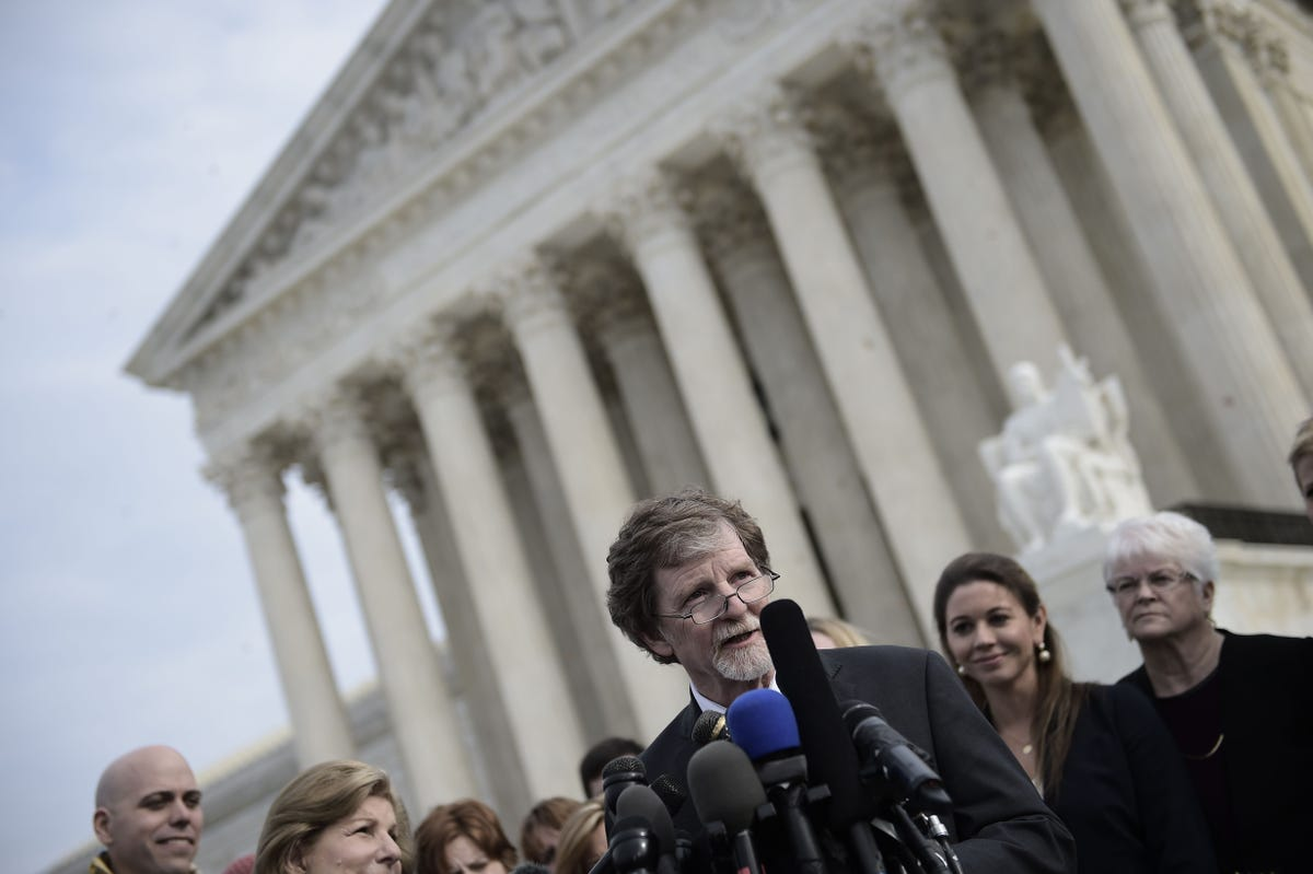 Supreme Court Rules For Baker Who Refused Wedding Cake For Gay Couple