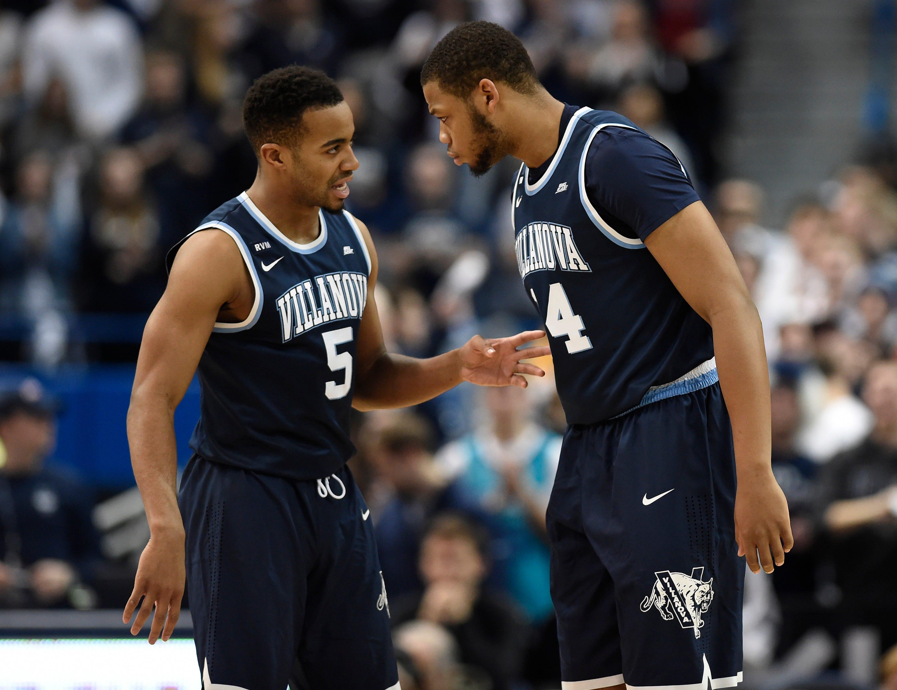 Villanova keeps hold of No. 1 spot in USA TODAY Sports men's basketball poll