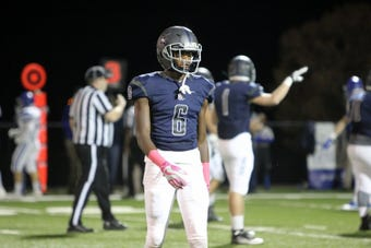 Lance Wilhoite, a receiver for Franklin Road Academy, has the speed and athleticism to set up apart as one of the top football recruiting talents.