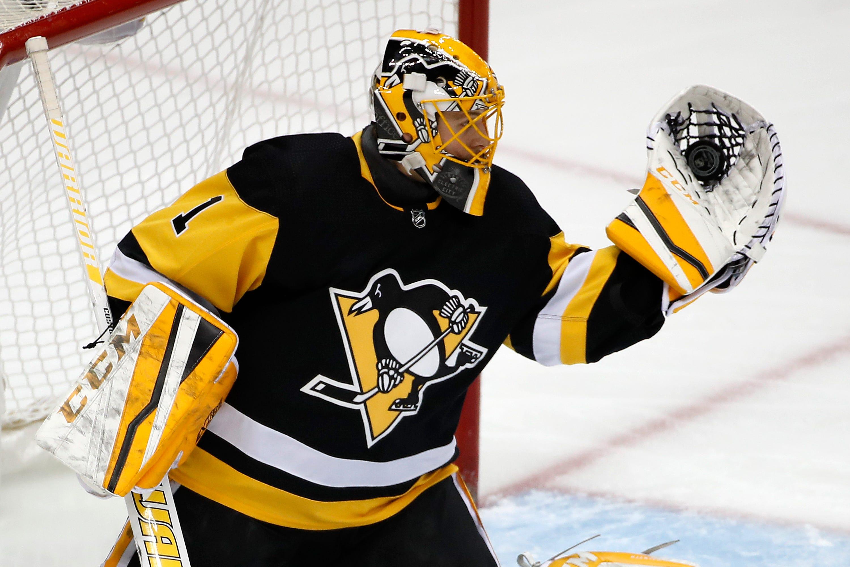Dea scores 1st NHL goal, Penguins beat Hurricanes, 3-1