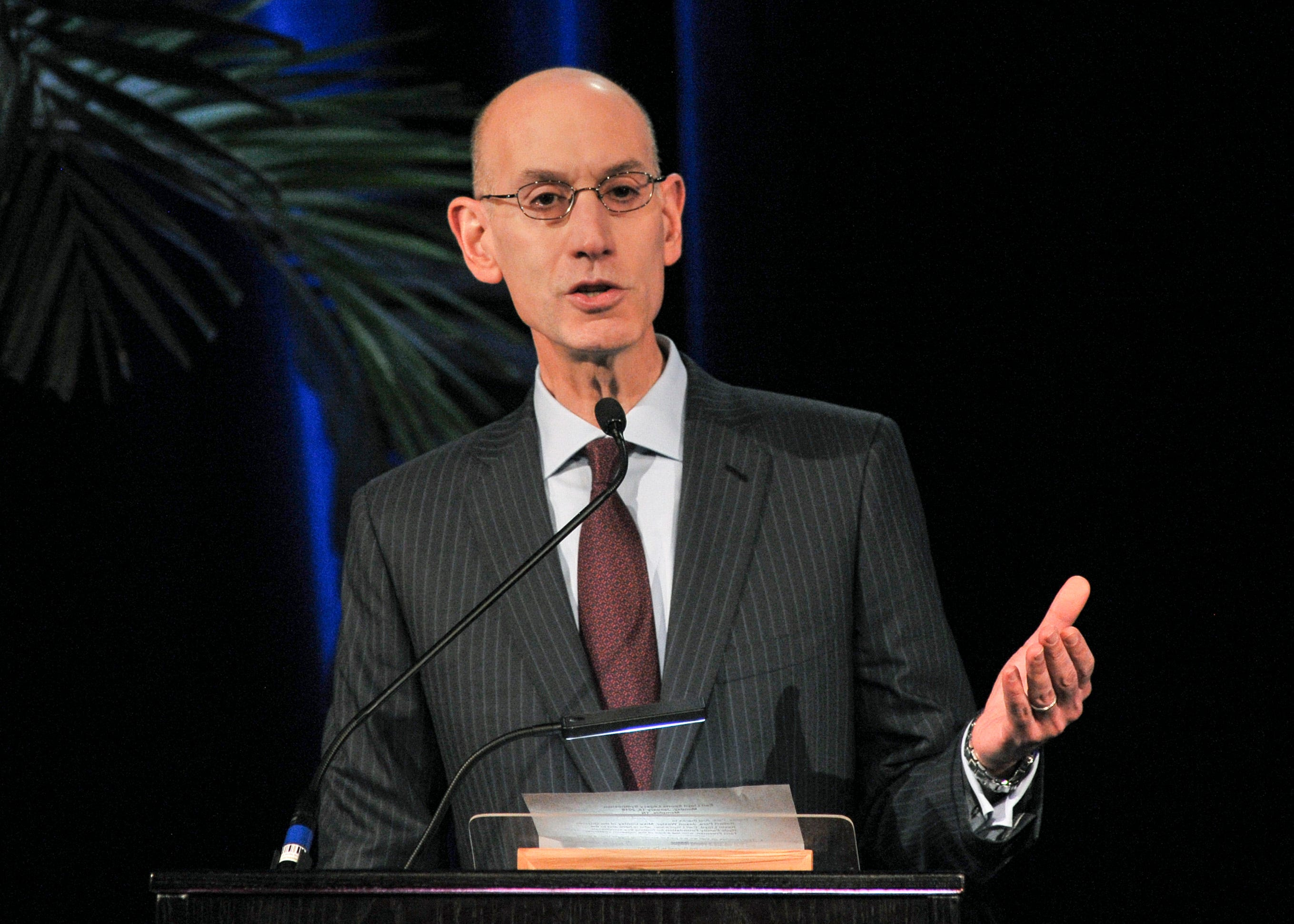 Adam Silver after NBA All-Star success: 'Sounds like we're going to have a televised draft'