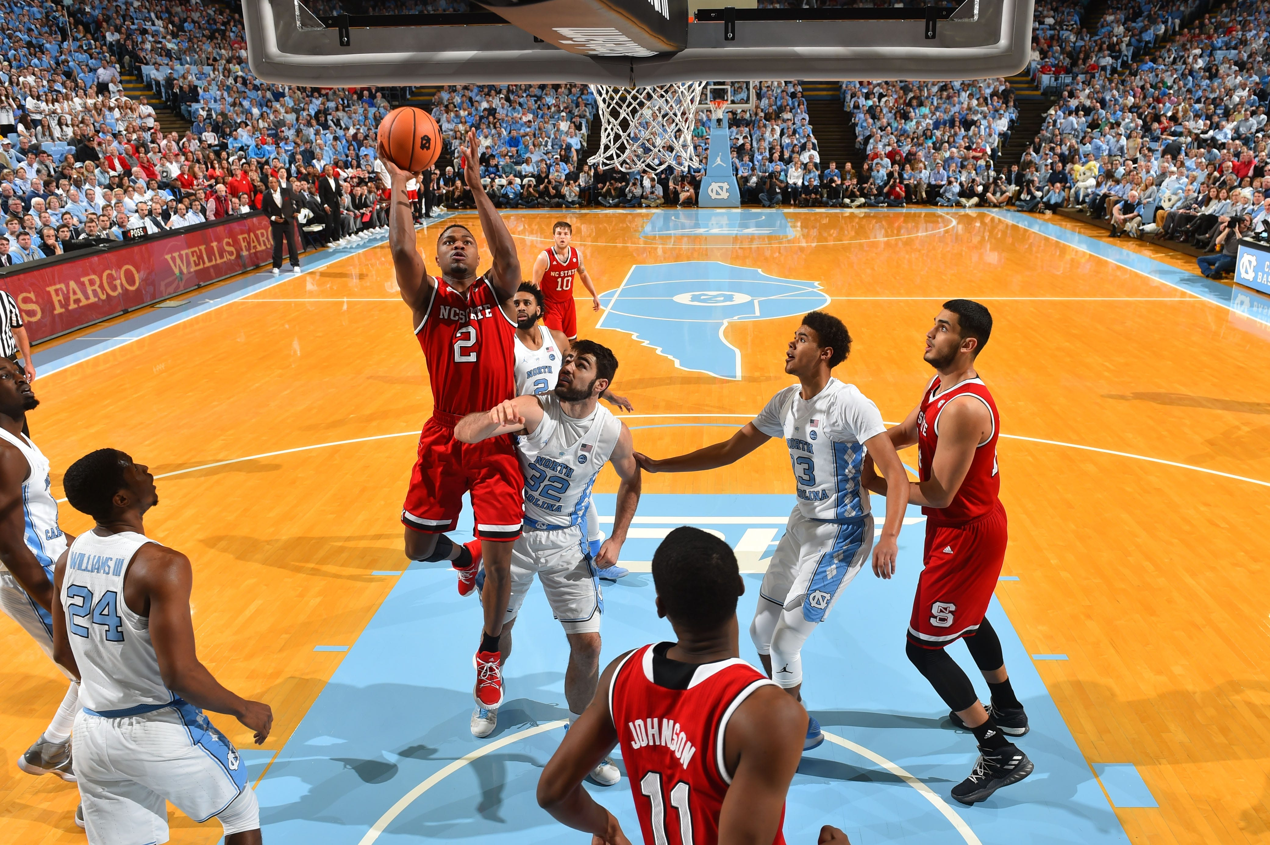 North Carolina State takes down No. 10 North Carolina in overtime