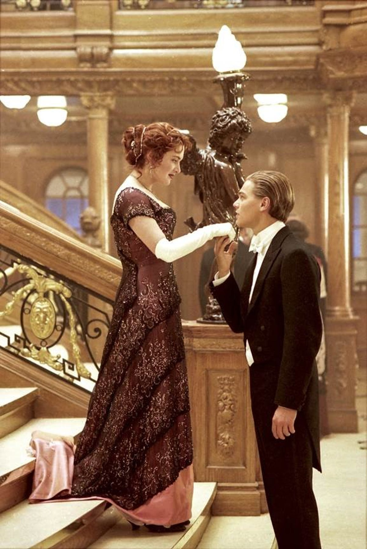 Biltmore Launches Glamour On Board Fashion From Titanic The Movie