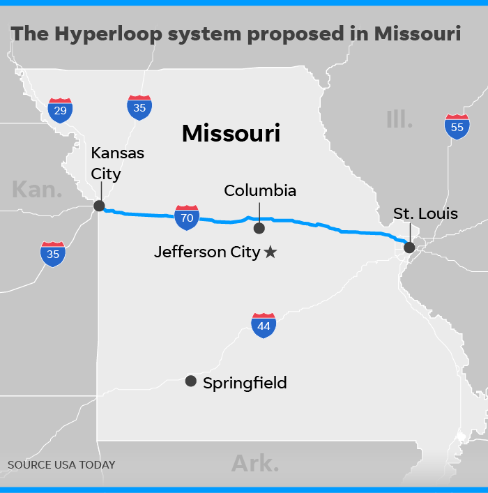 Is Missouri Ready For 700 Mph Hyperloop Commutes