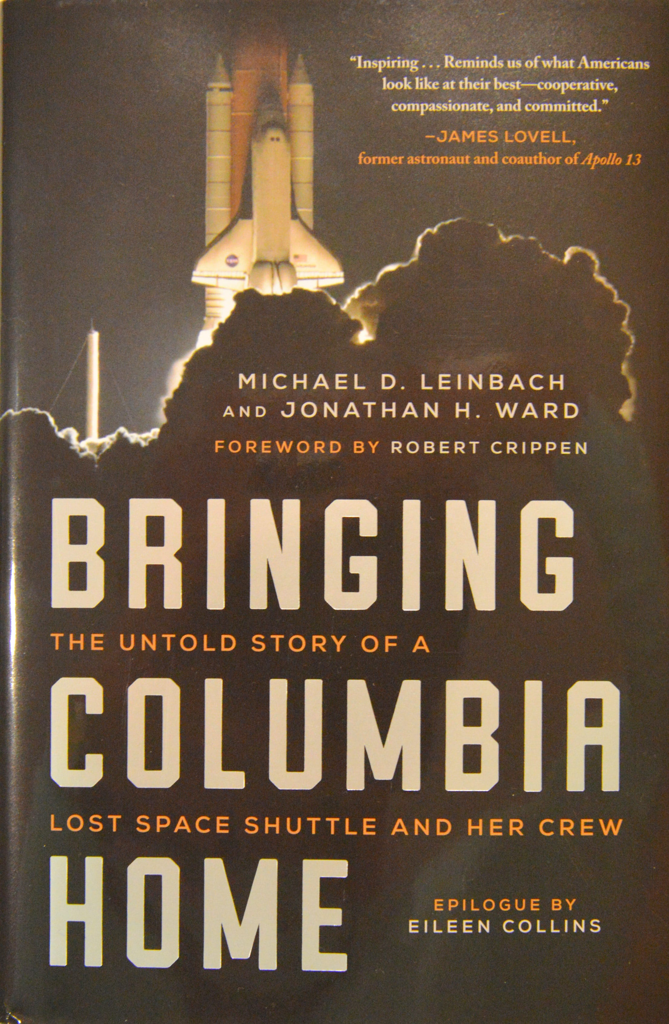 'Bringing Columbia Home': Launch director's book tells shuttle's final story