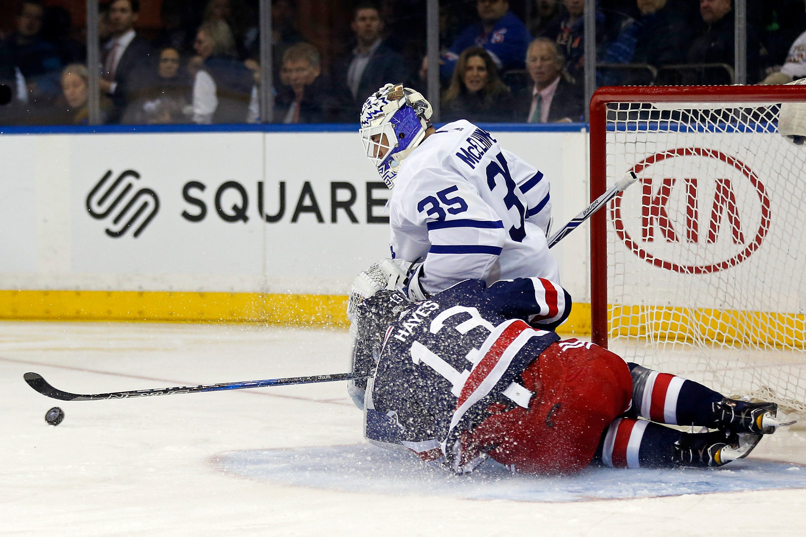 Maple Leafs roll to second straight shutout win