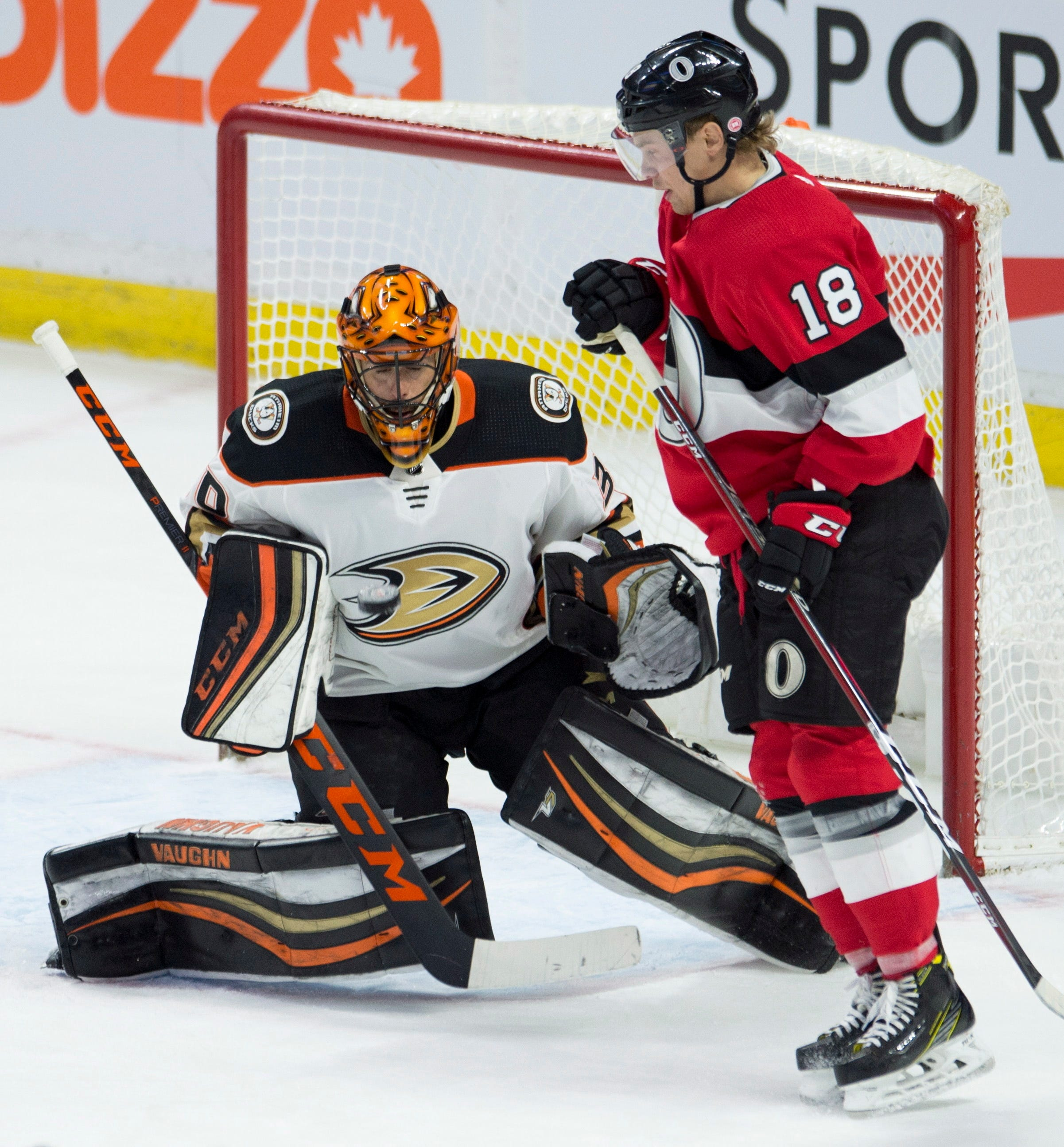 Karlsson scores in OT to end Senators' skid at 6 games