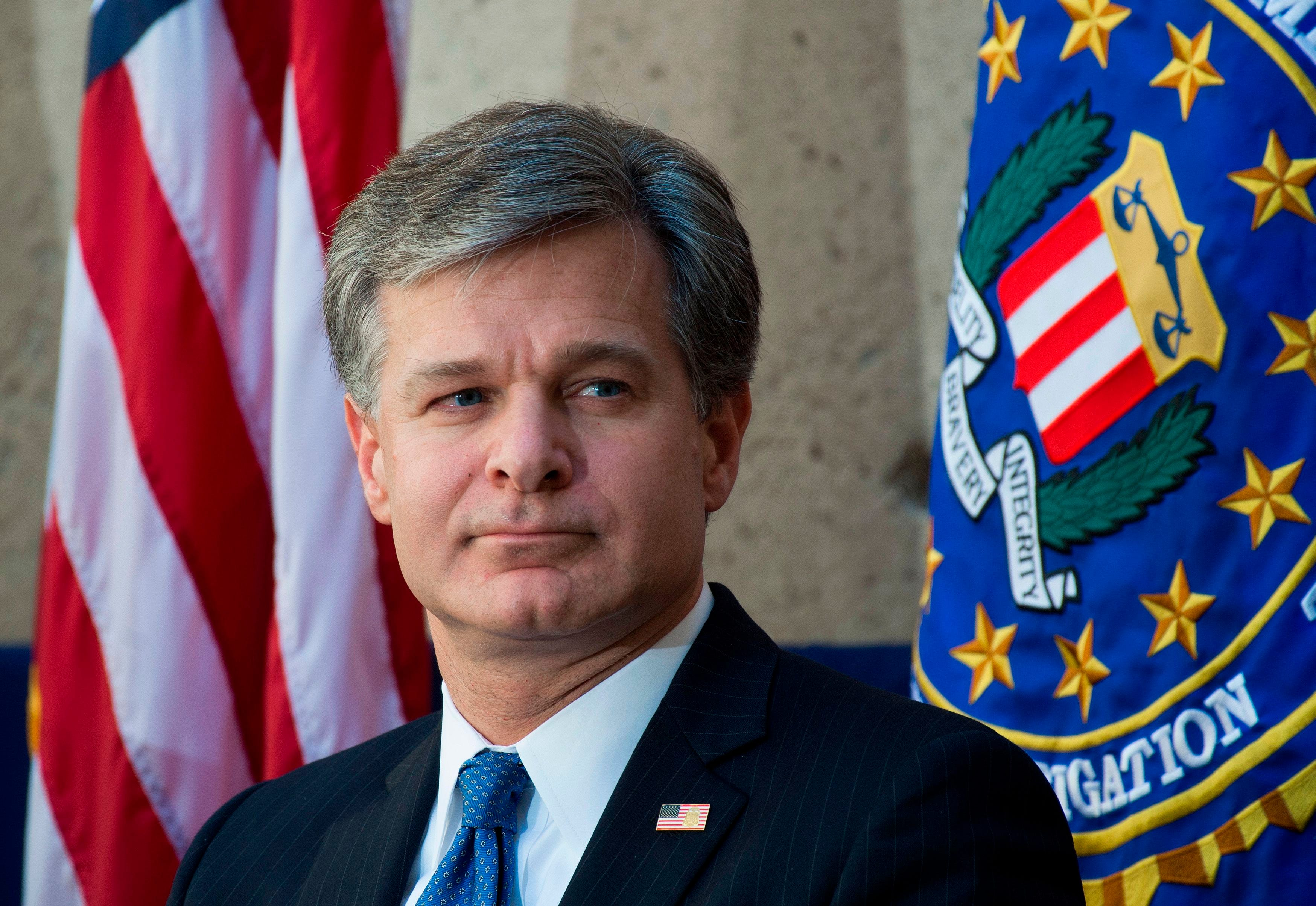FBI Director Chris Wray's other mission: tending the bureau's 'brand' after months of turmoil