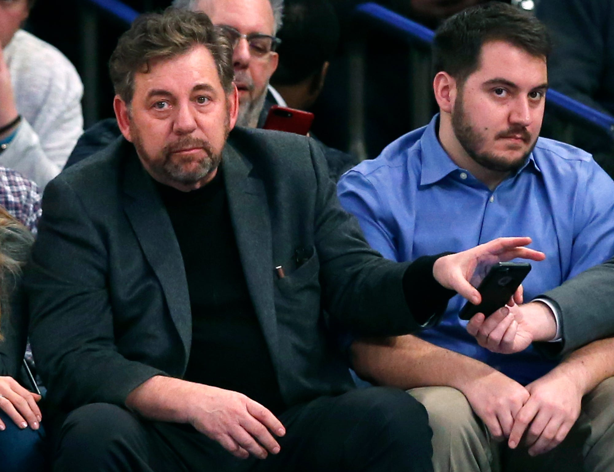Knicks shoot down report of James Dolan 'courting offers' to sell team