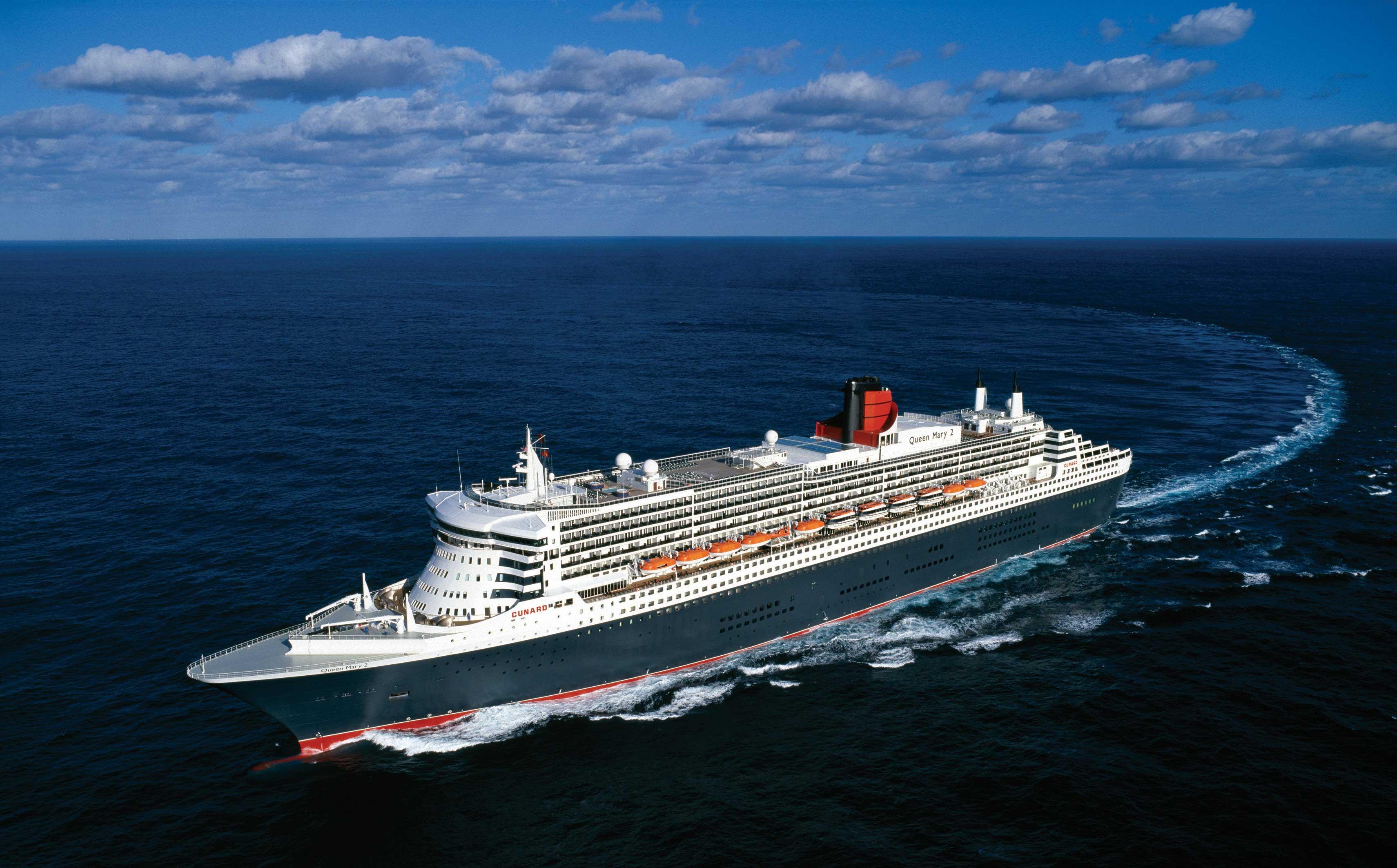 Корабль Queen Mary 2  № 3495340 бесплатно