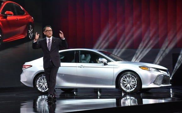 Toyota CEO Akio Toyoda: Trump tariff threat 'makes me feel sad'