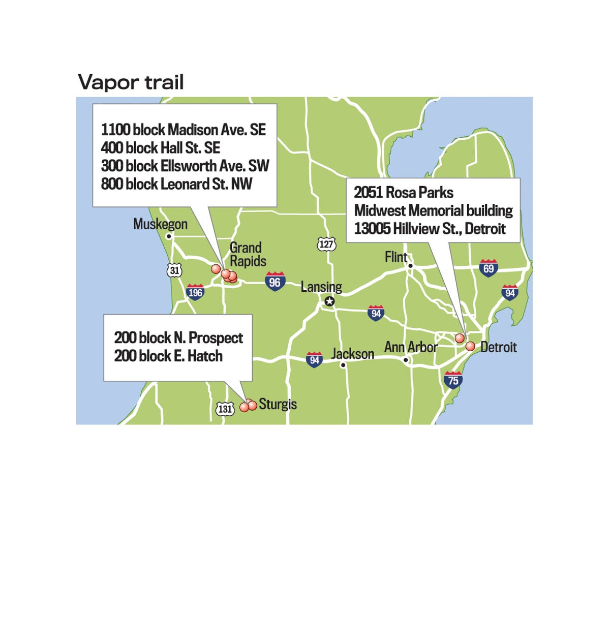 State DEQ at first murky on number of vapor evacuees