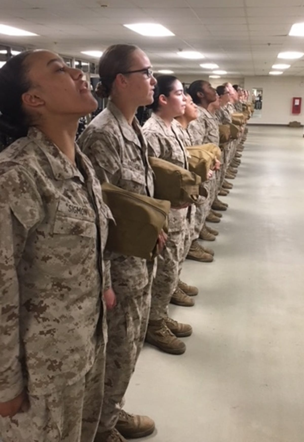 Marine Corps boot camp undergoes cultural shift as more