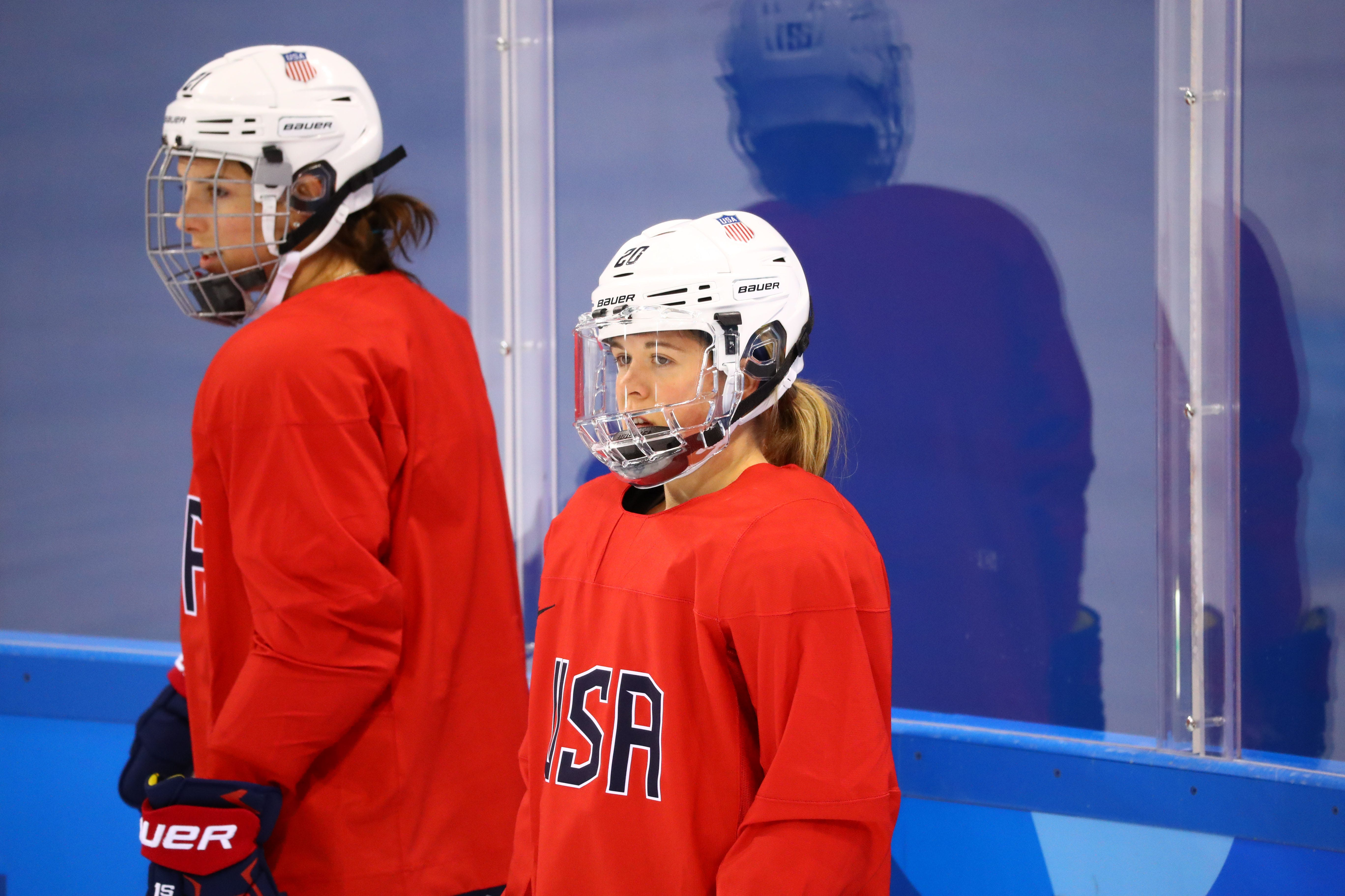 Brandt sisters head to Olympic hockey tournament for different countries