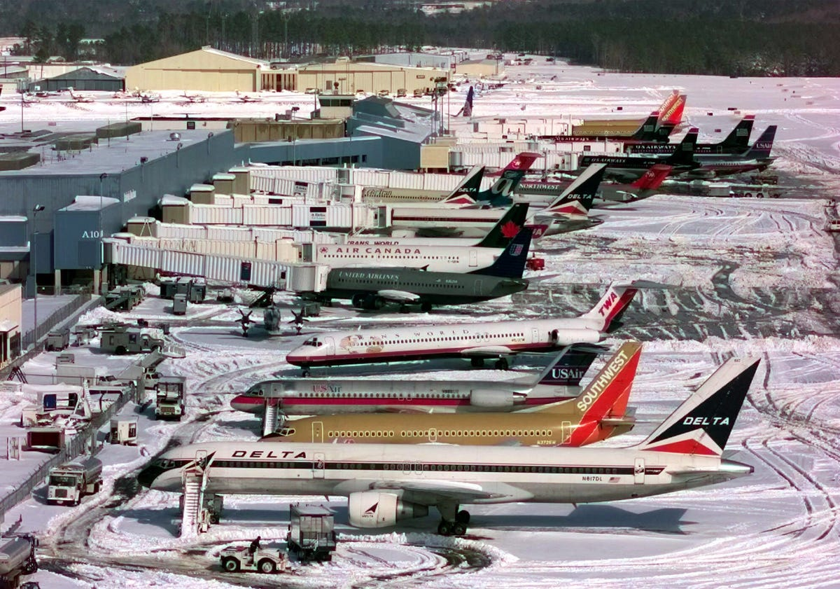 Name that airport ... (Raleigh/Durham, 2000)