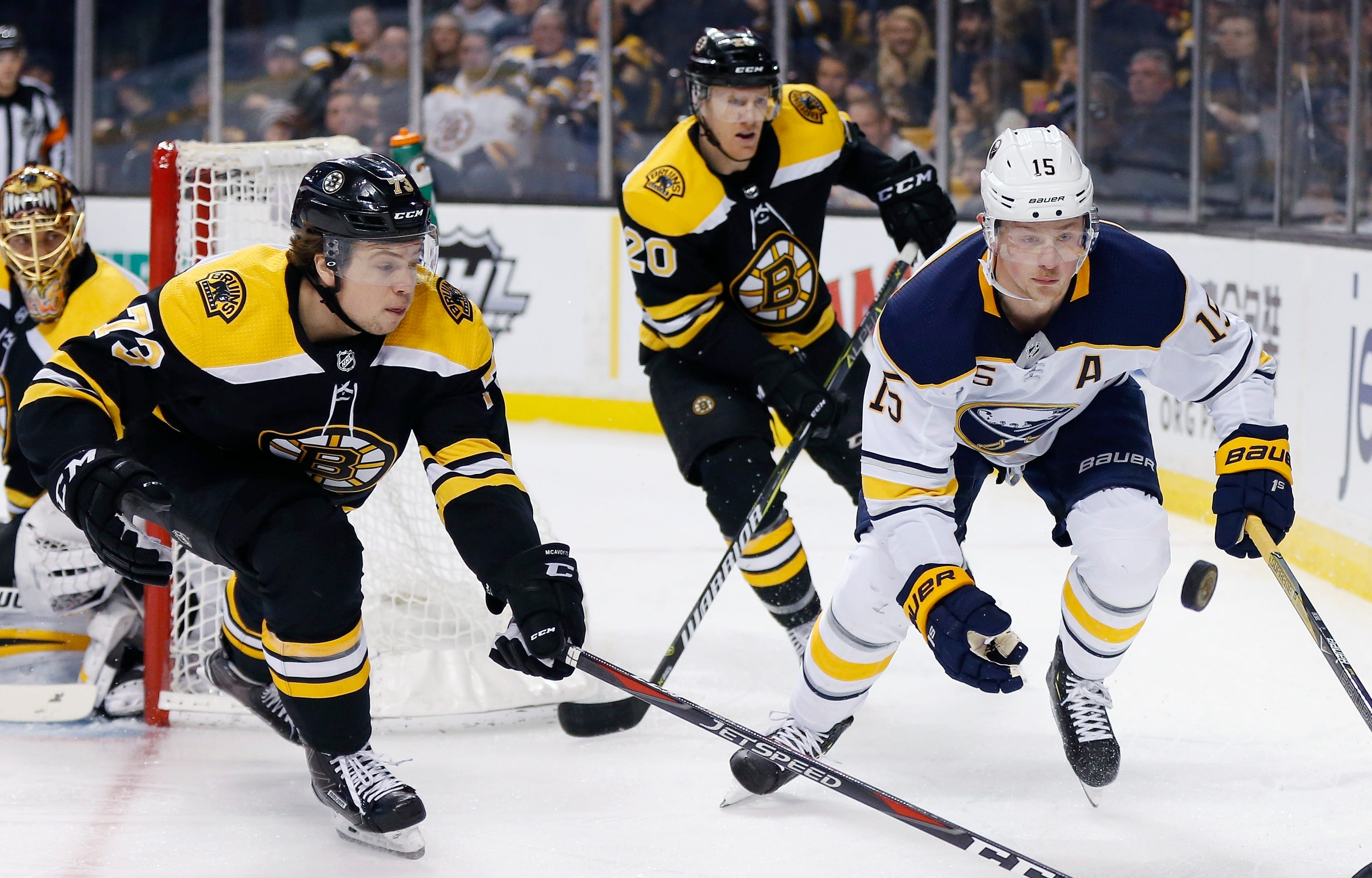 Sabres' Eichel out indefinitely with sprained right ankle