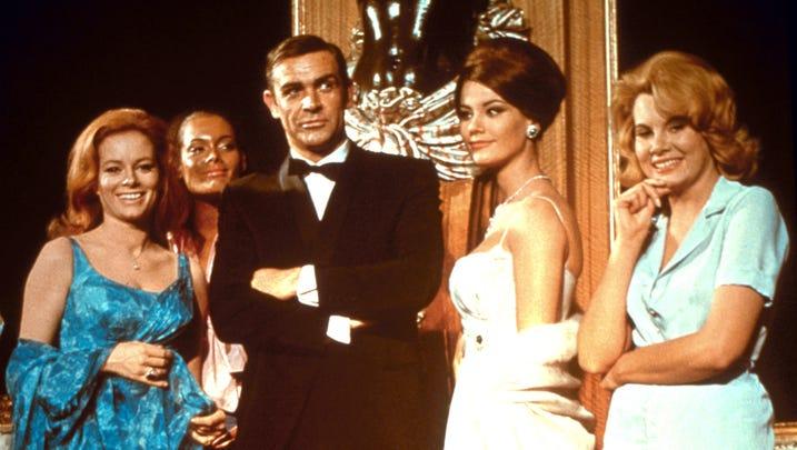 "Sean Connery as James Bond in 1965's ""Thunderball."""