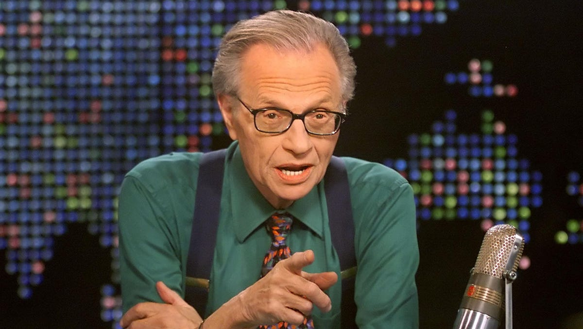 Larry King, CNN talk-show legend, dies at 87 after being hospitalized with COVID-19