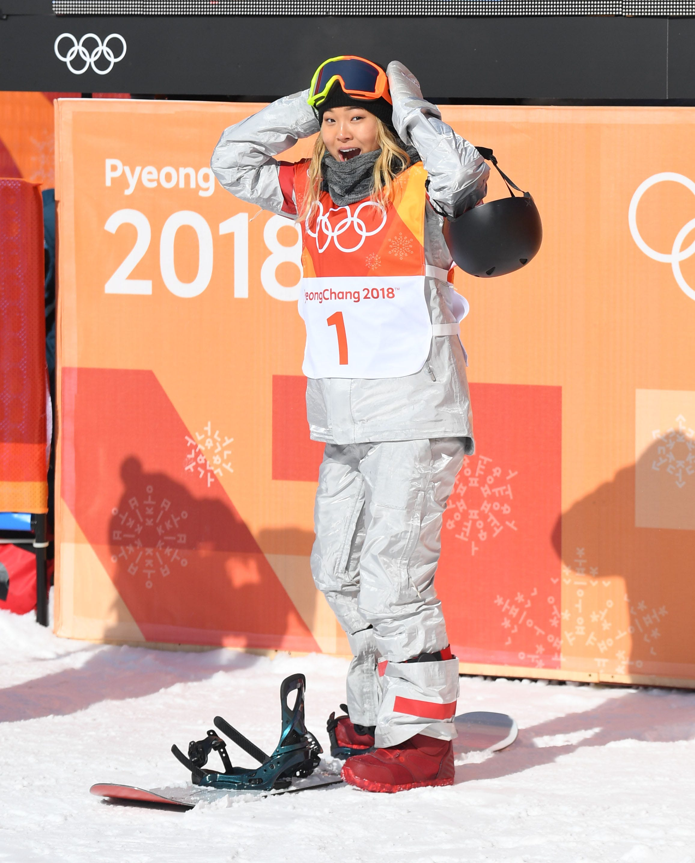 Olympic champion Chloe Kim gets the reward she really craves, ice cream