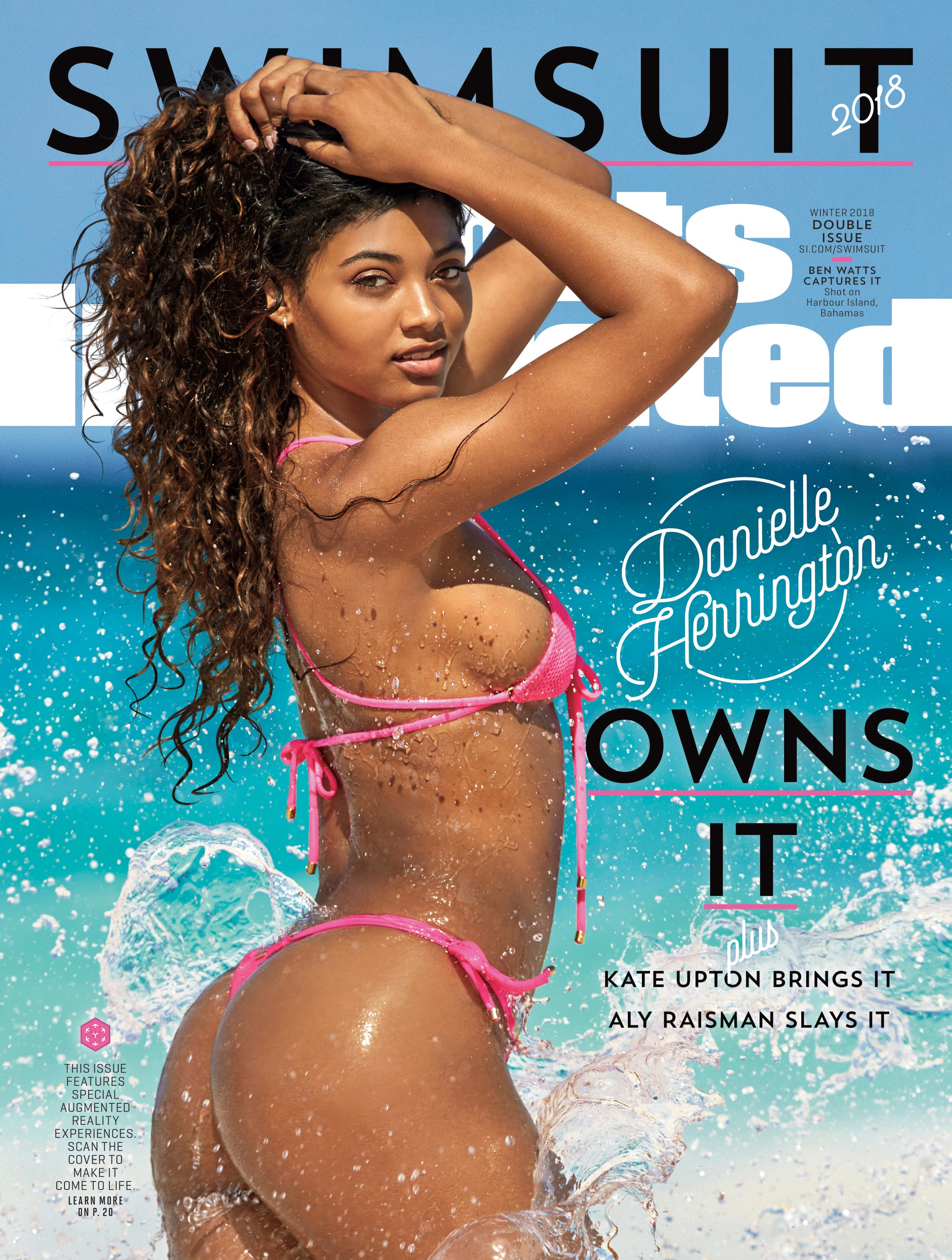 Who is Danielle Herrington? Get to know the Swimsuit Issue cover girl