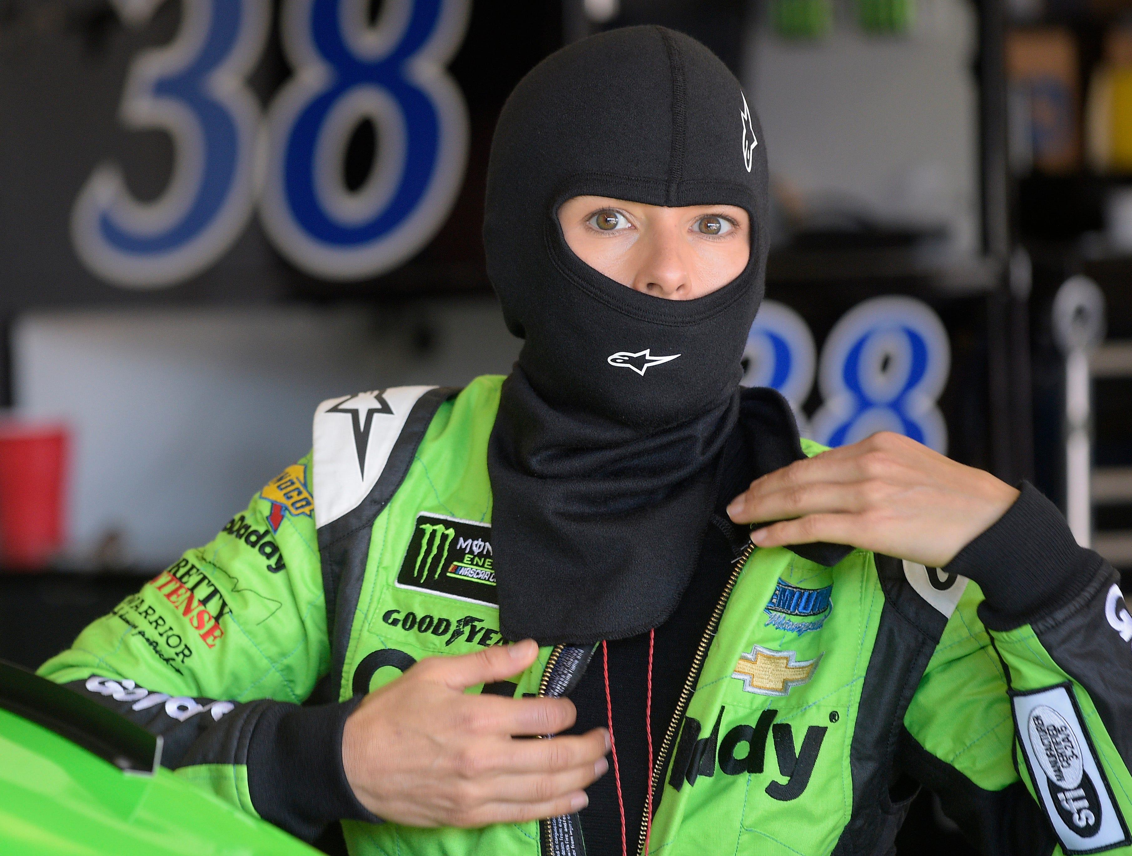 Danica Patrick speeding toward NASCAR's exit ramp