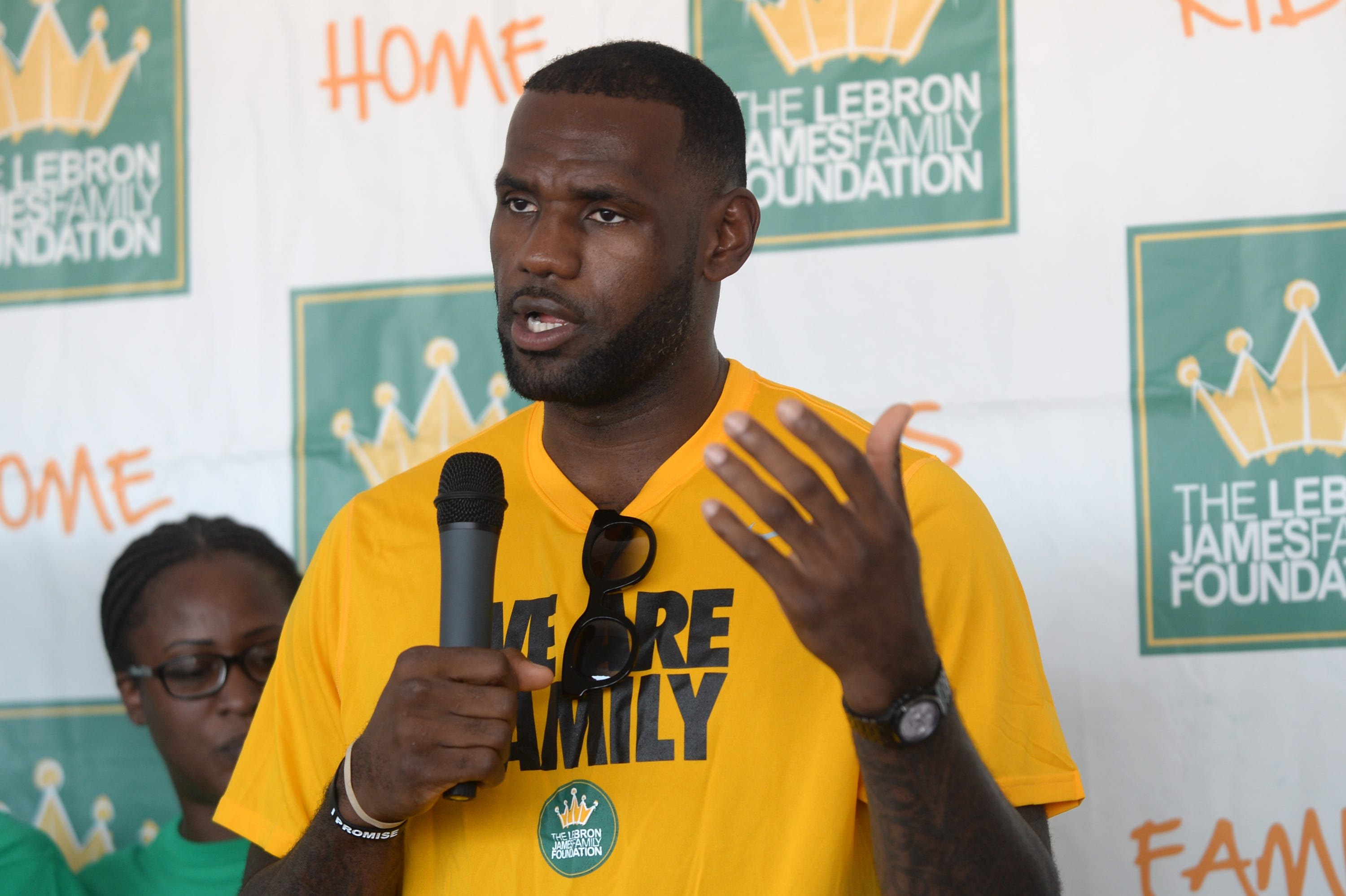 What if LeBron James had just shut up and dribbled?