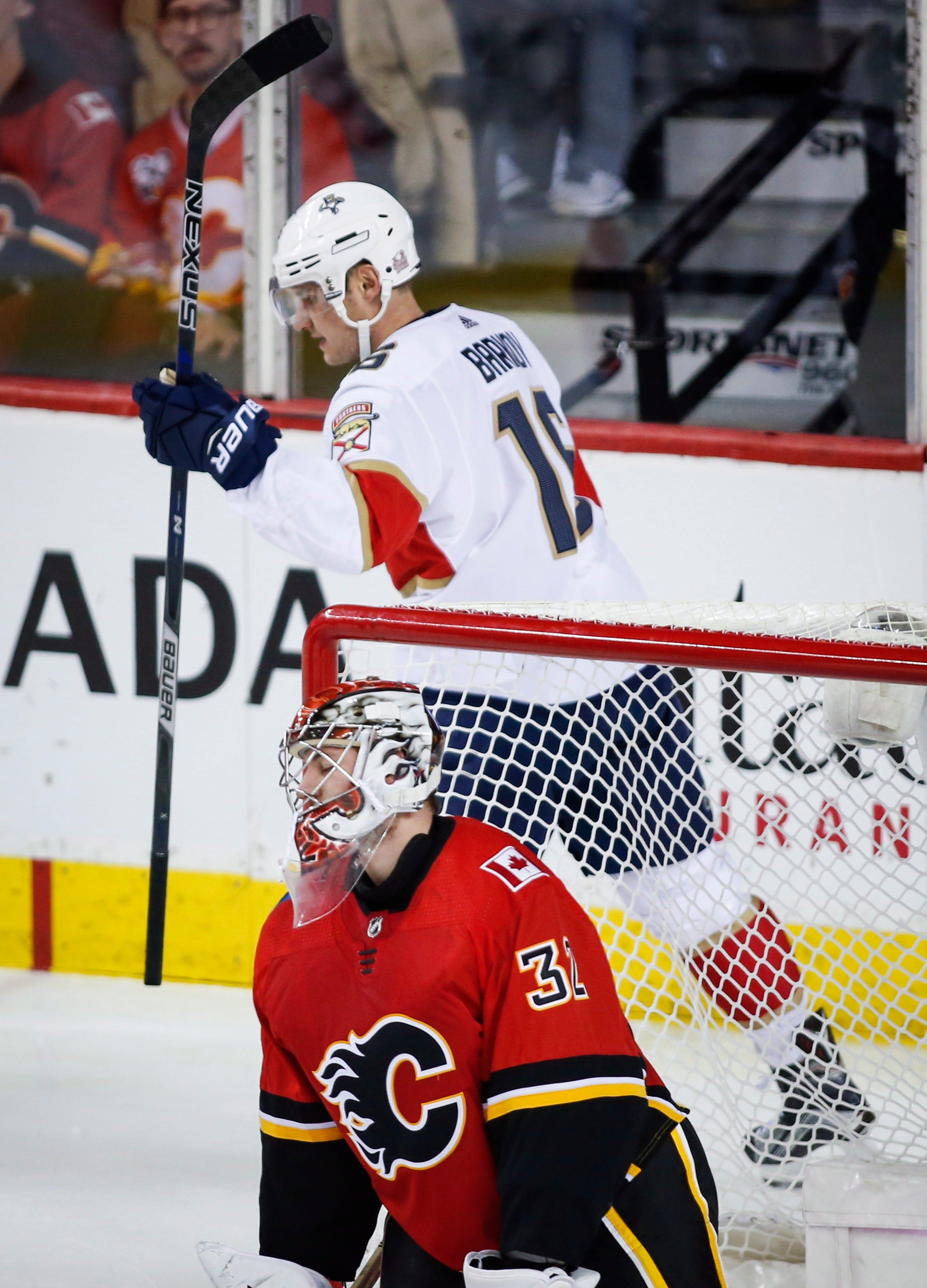 Luongo returns, Matheson scores 2 as Panthers beat Flames