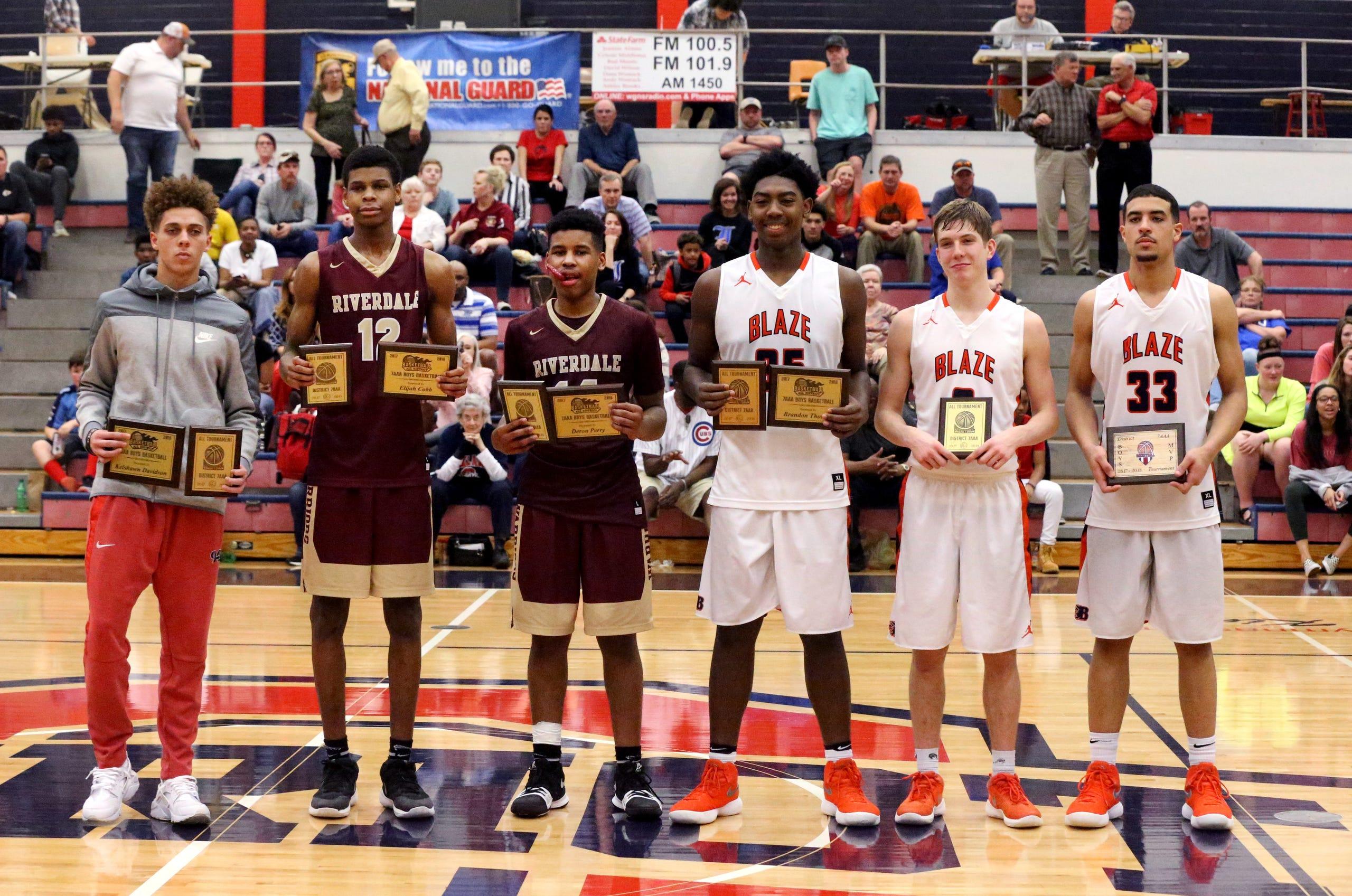 Photos: District 7-AAA basketball tournament boy's final four
