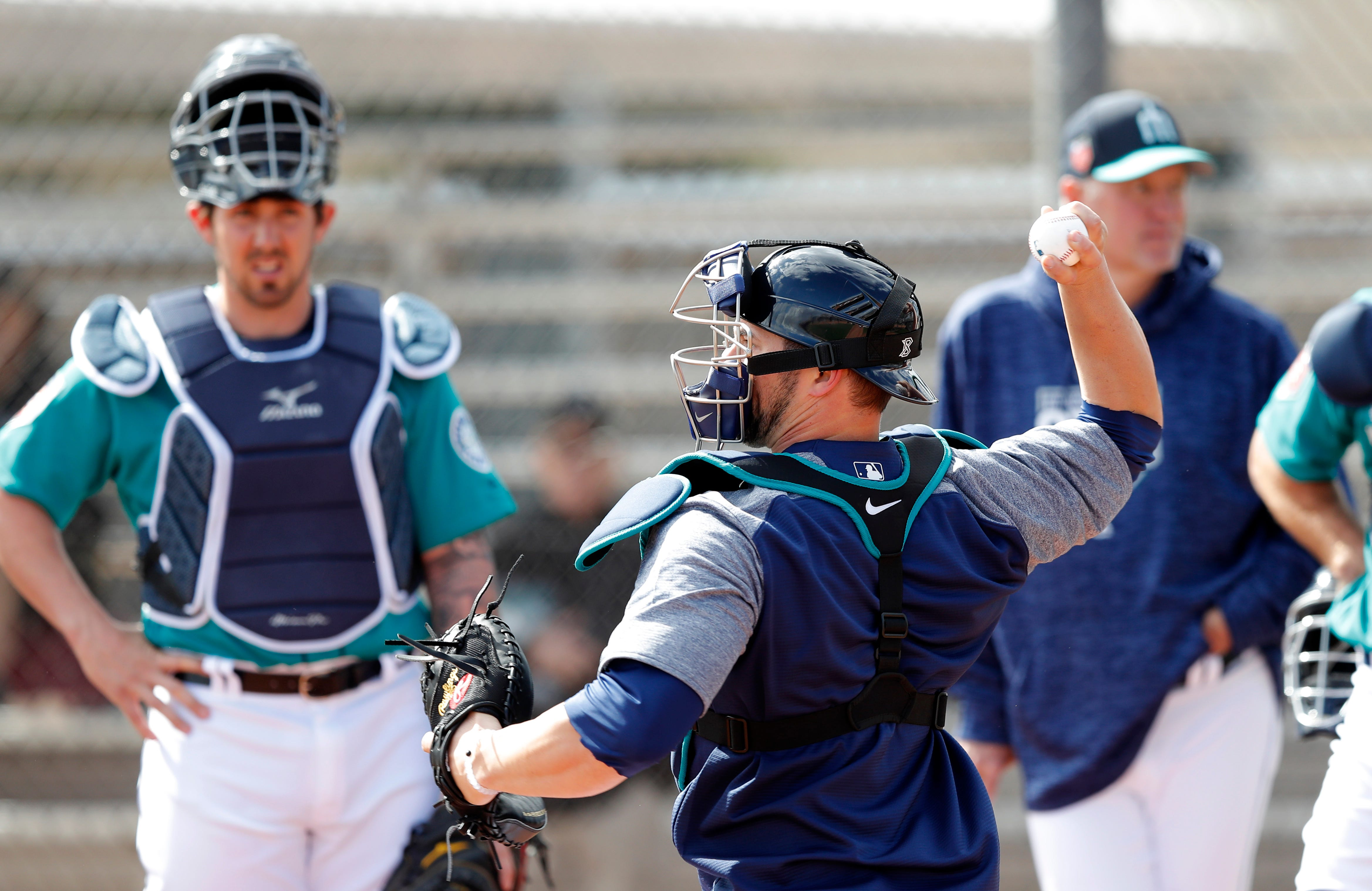 Mariners catcher Mike Zunino grows into major role with team
