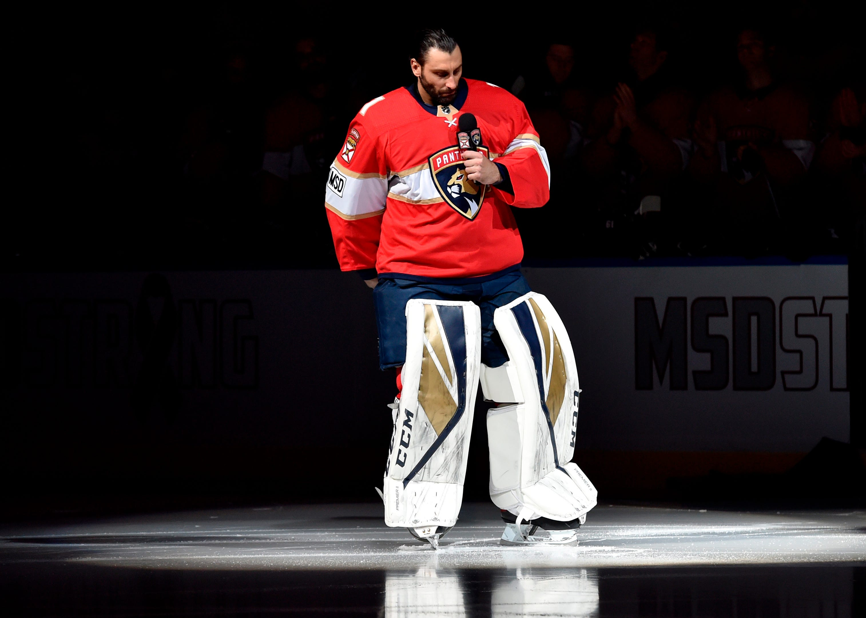 Panthers goalie Roberto Luongo on Parkland shooting: Need to 'keep it in the forefront'
