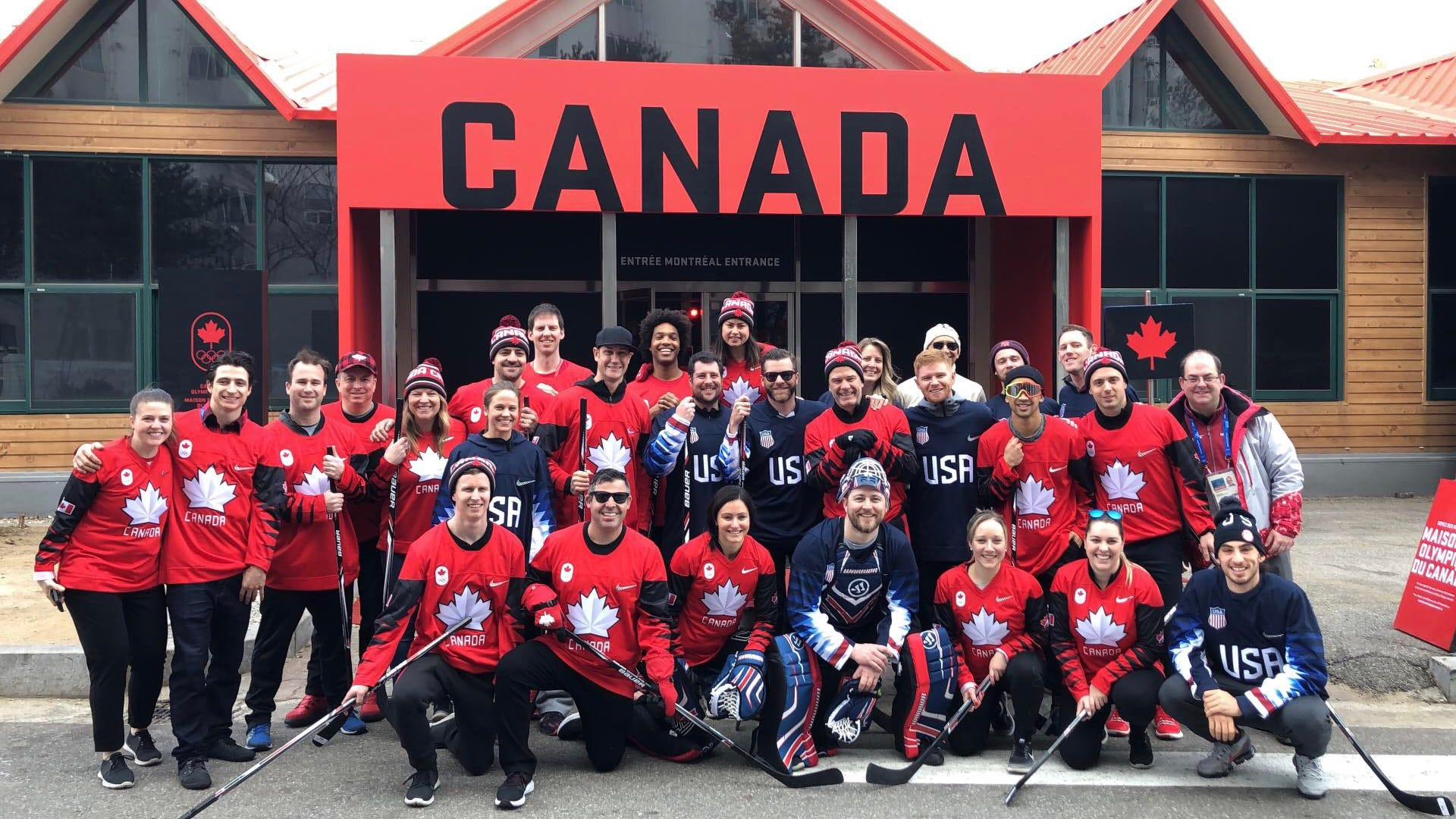 The USA vs. Canada hockey game you didn't know about at the Olympics