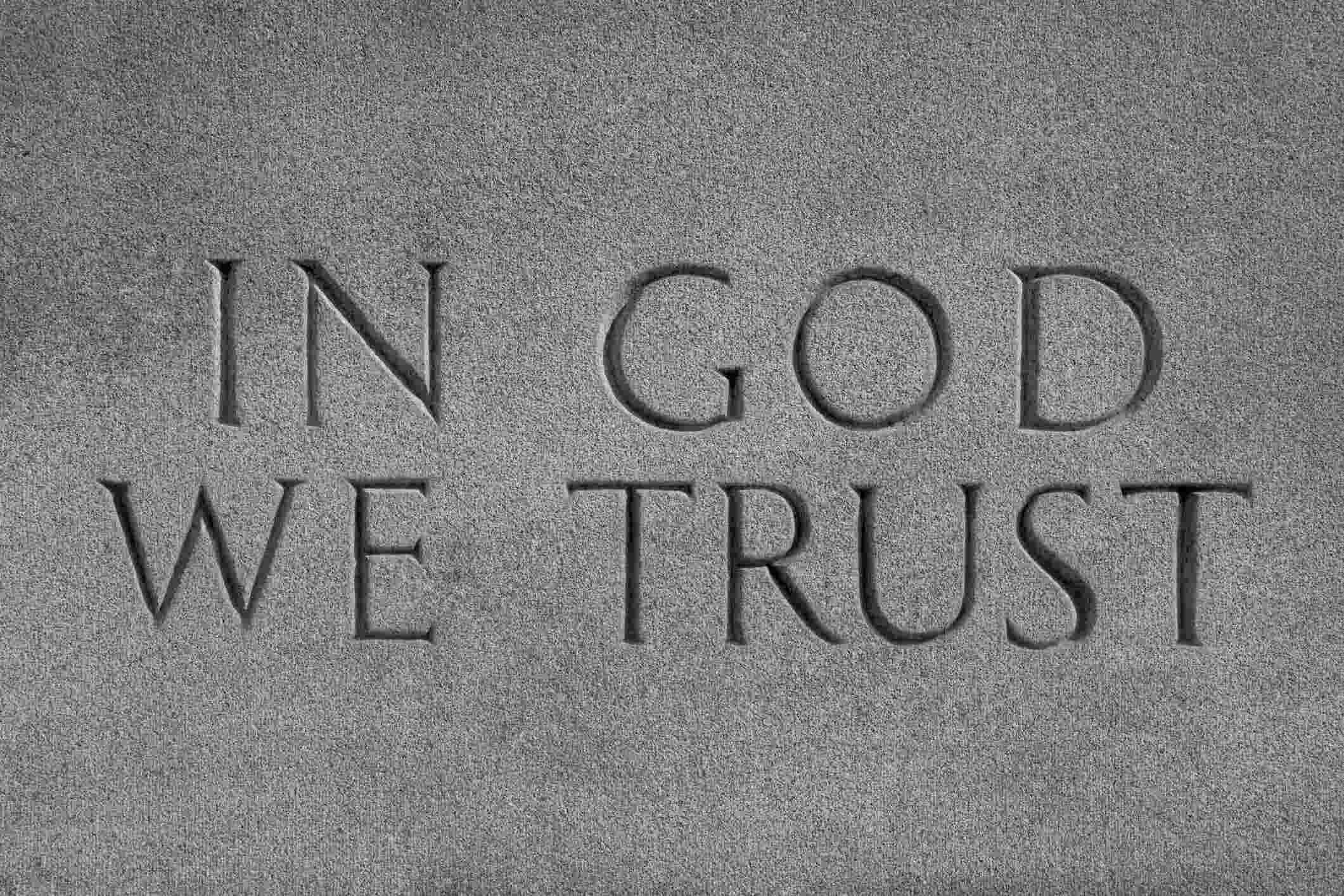 ın god we trust ile ilgili görsel sonucu