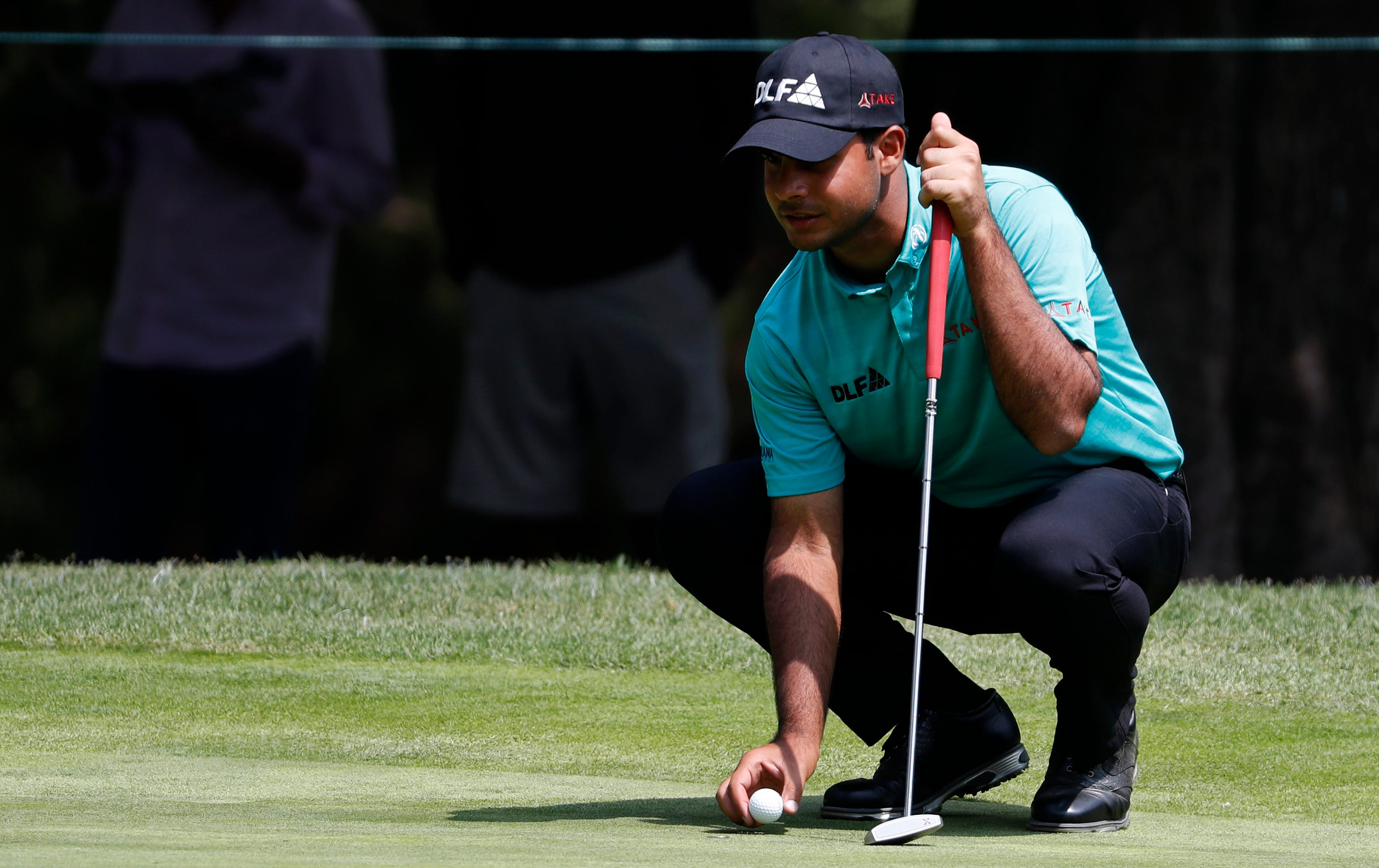 Sharma soars into the lead in Mexico