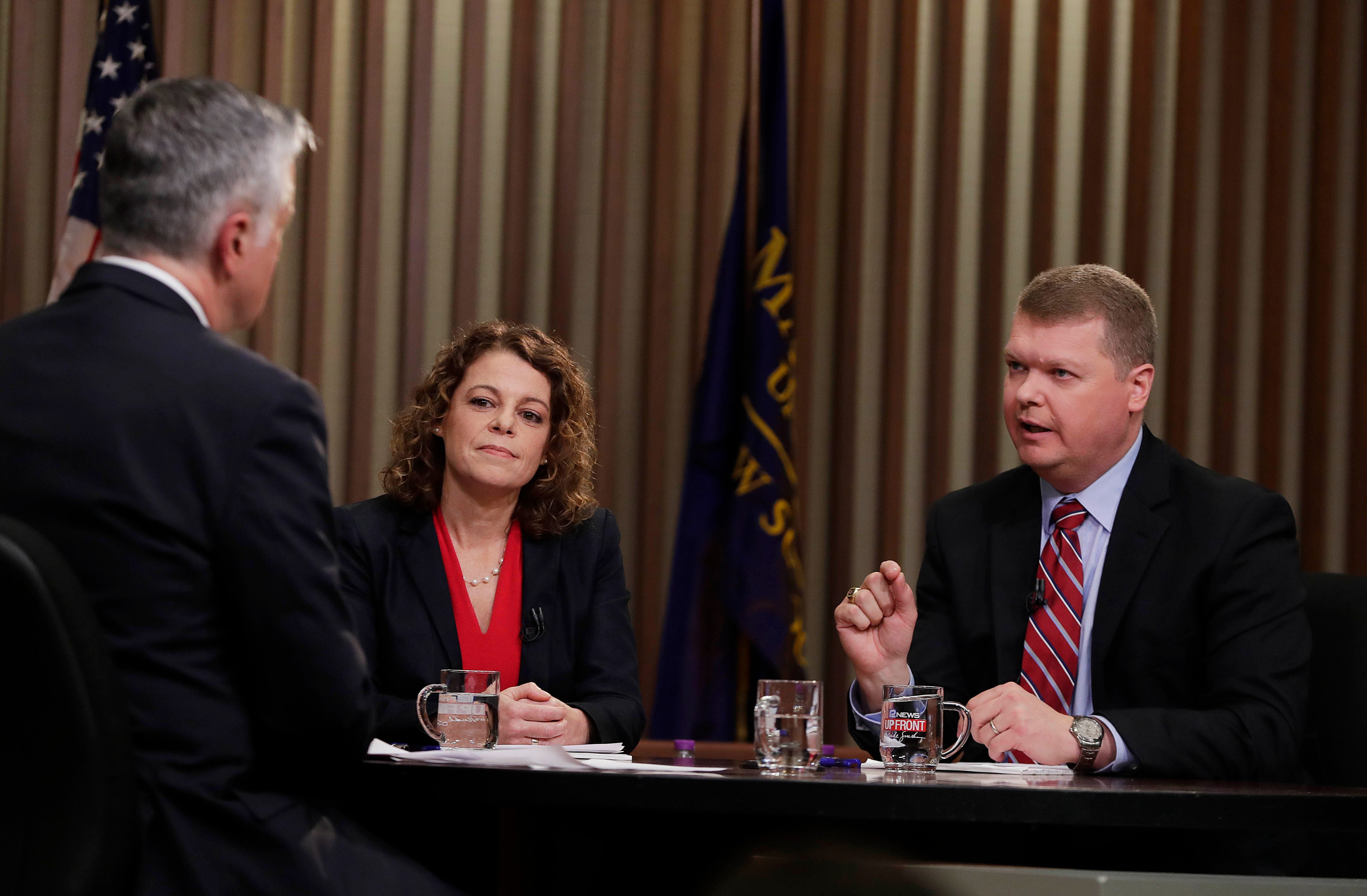 Rebecca Dallet and Michael Screnock rip each other over sentencing in state Supreme Court race   Milwaukee Journal Sentinel