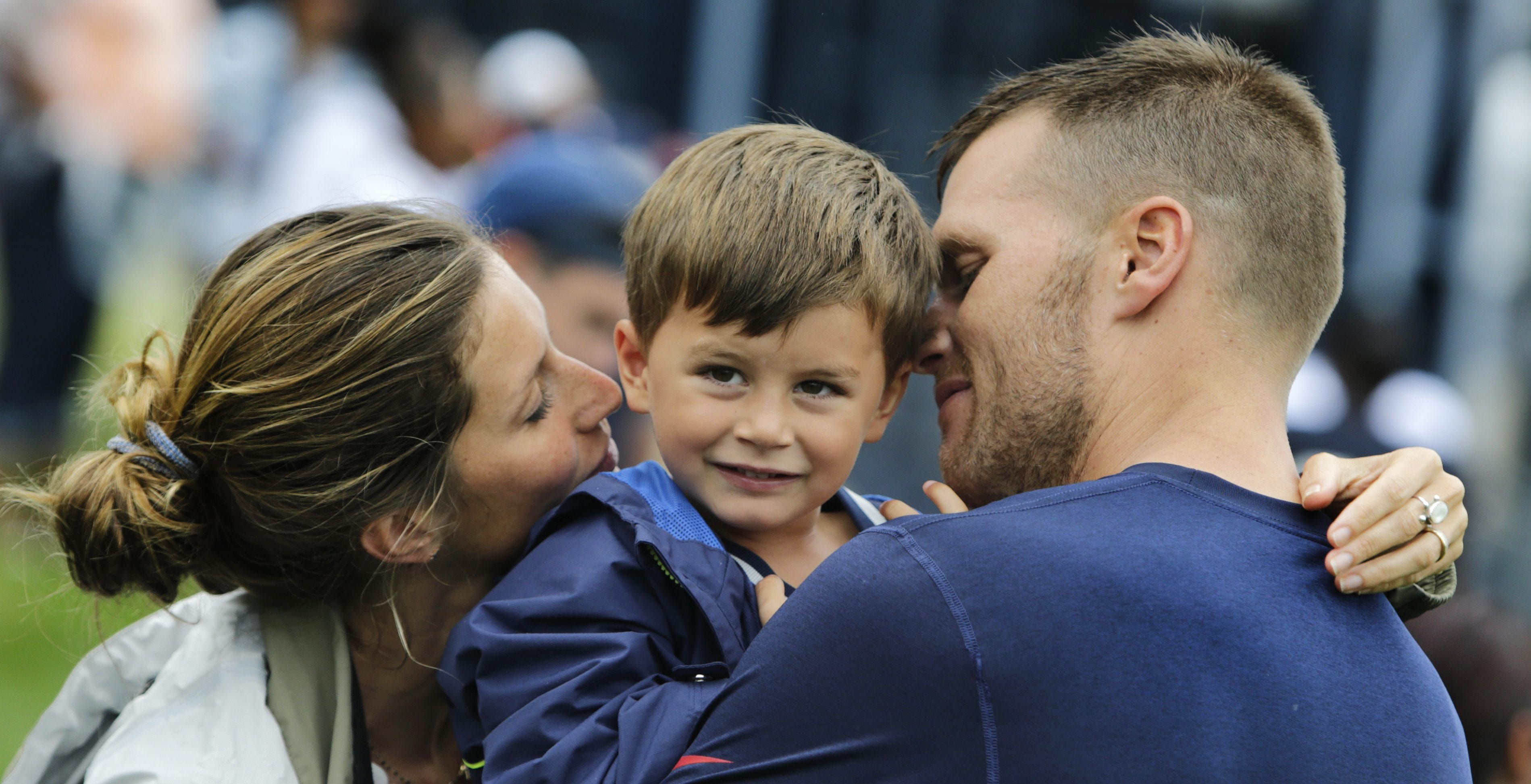 Tom Brady says 'it was hard' when his son wasn't into sports: 'What do you mean? He's a boy' thumbnail