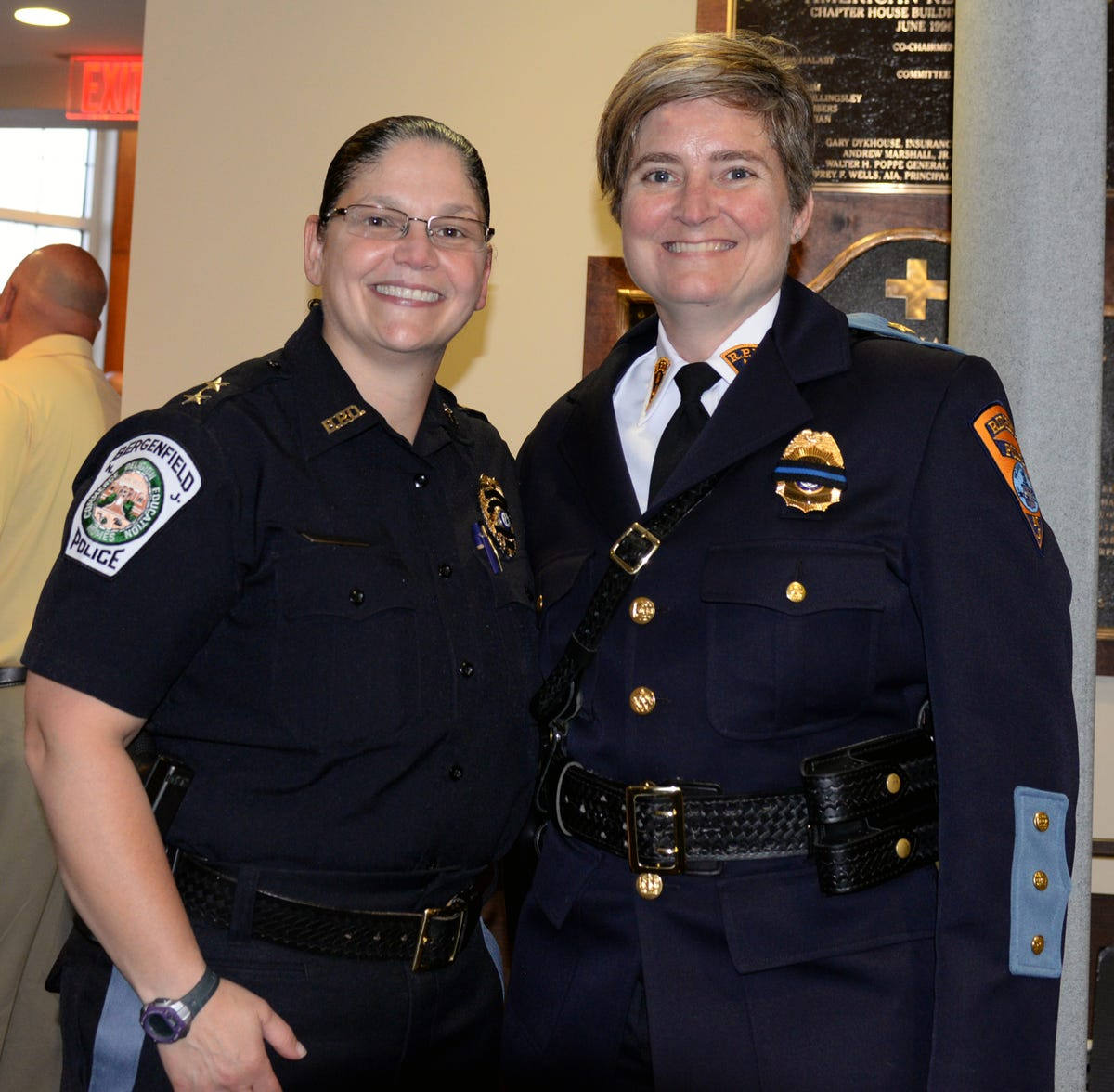 North Jersey women police officers climb the ranks, and earn
