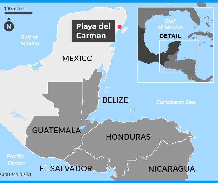 Mexico travel warnings: Playa del Carmen incident spooks